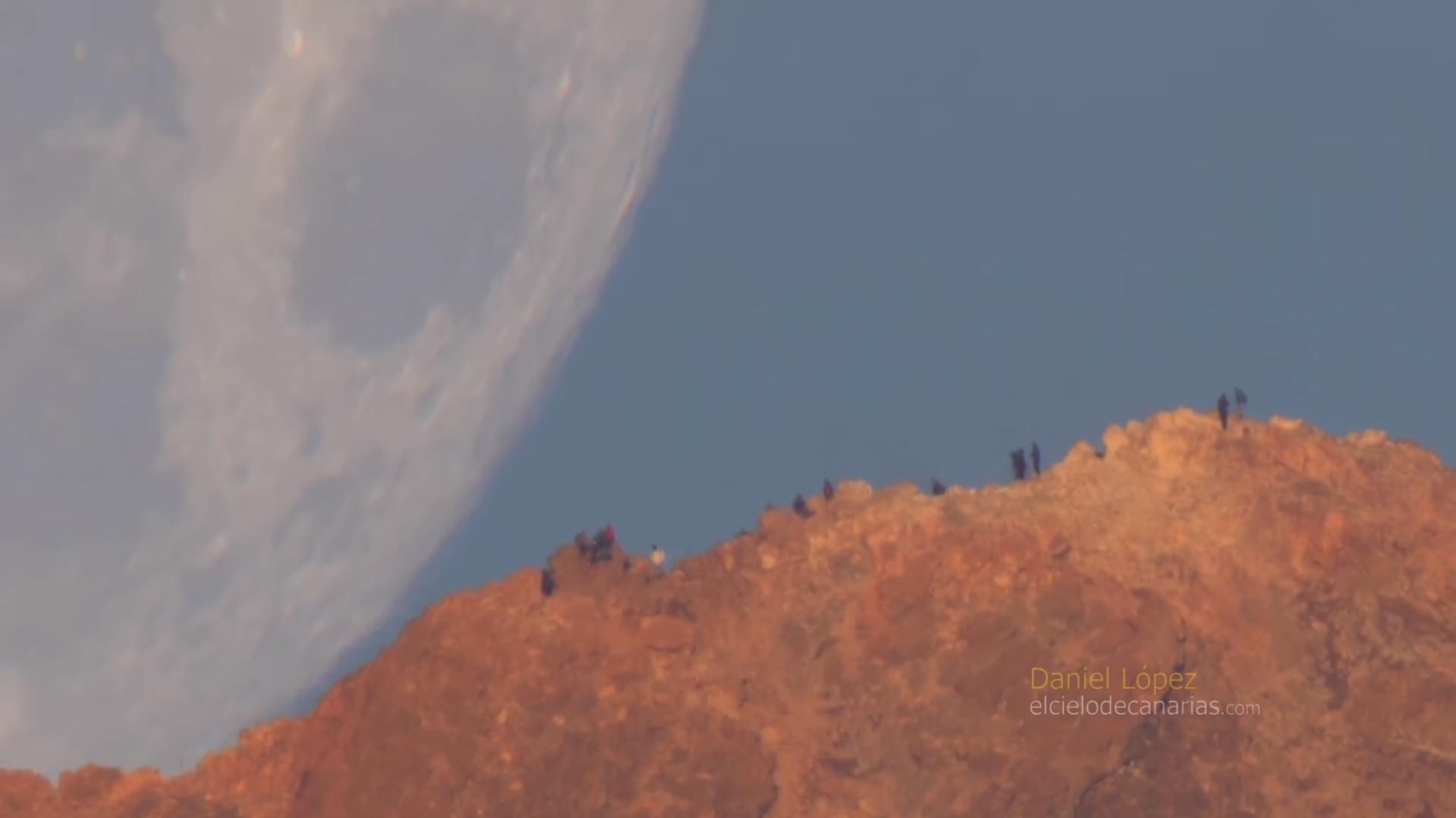 Fotógrafo captou imagens hipnotizantes da Lua. Veja o vídeo