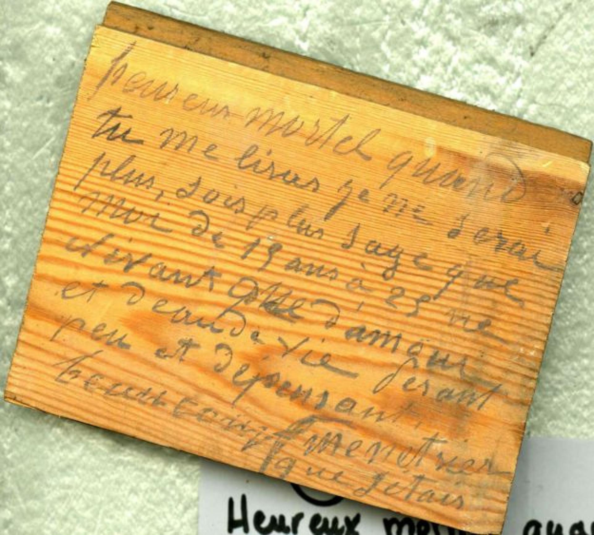 A história de um diário escrito por baixo do chão de um castelo