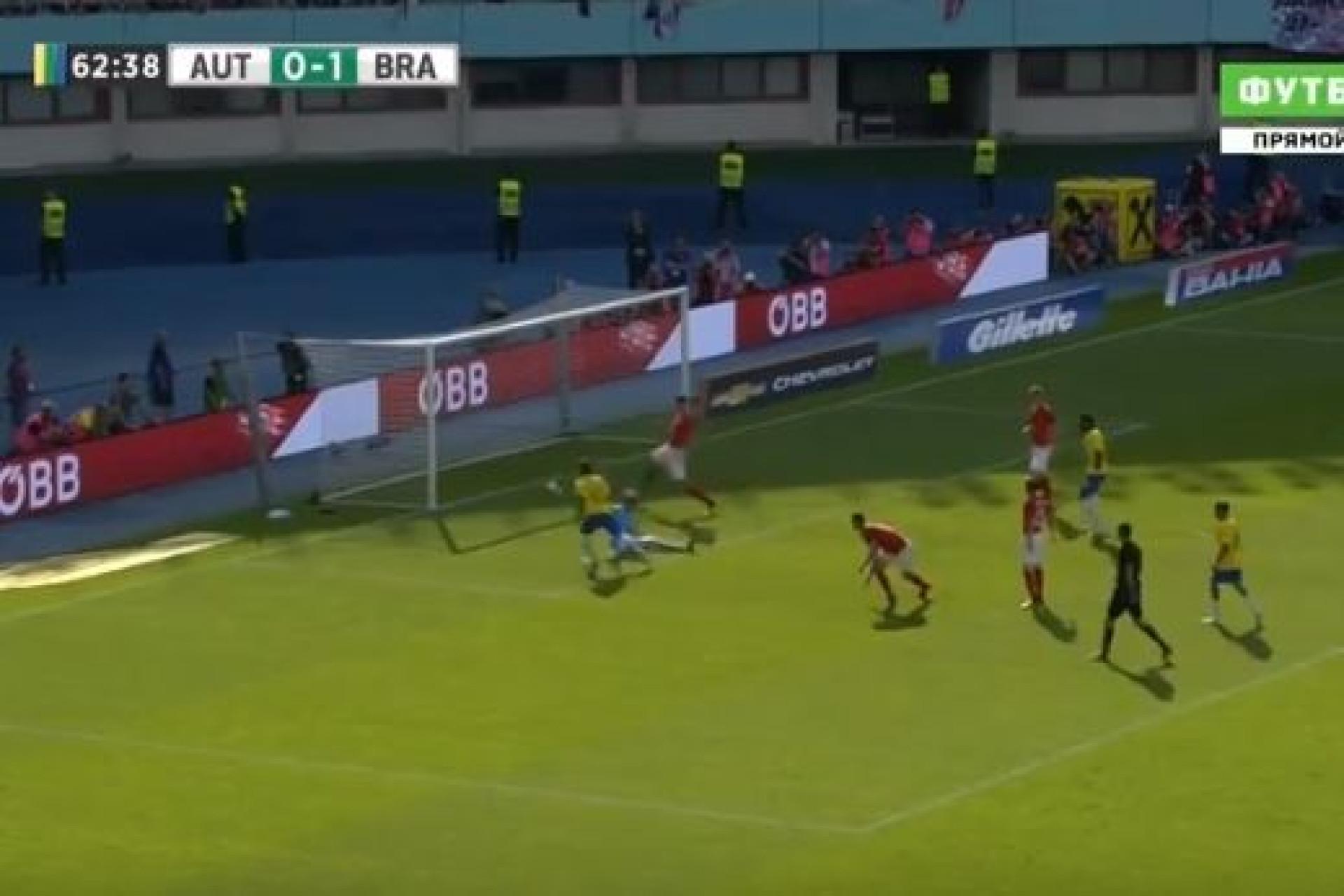 Que crueldade! Neymar amplia o marcador numa jogada individual