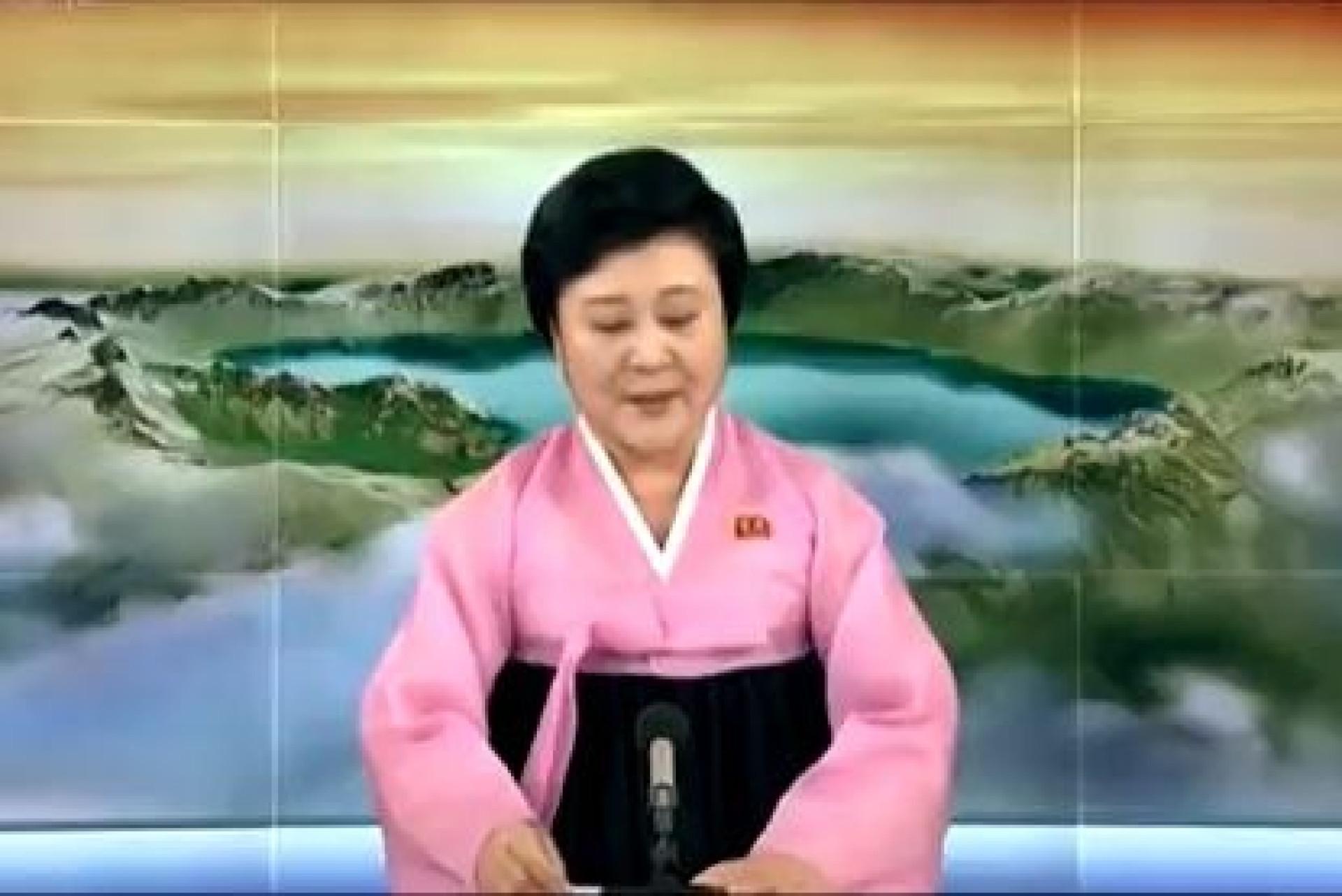 Famosa apresentadora da Coreia do Norte anunciou cimeira com Trump assim