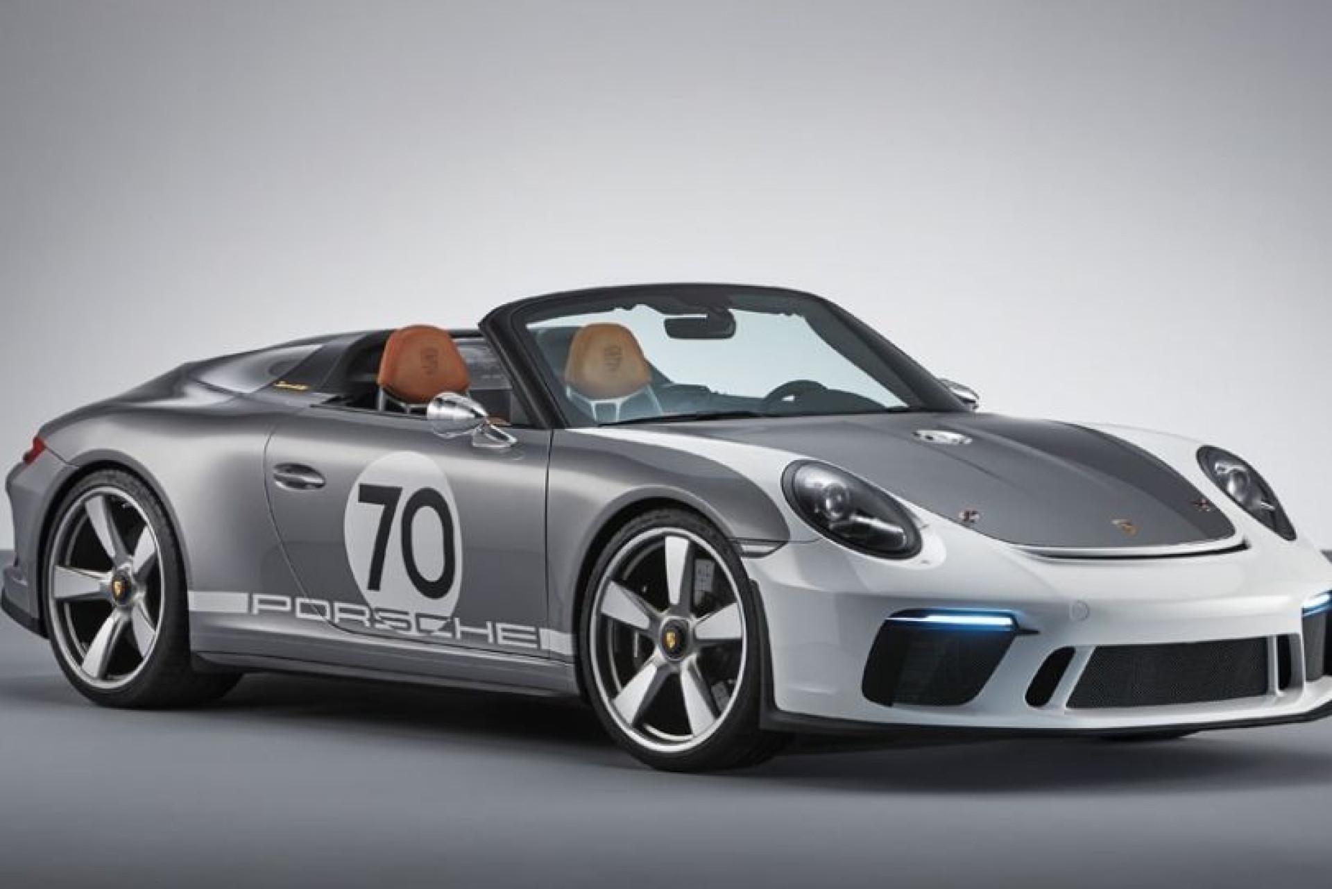 911 Speedster Concept: O mais recente 'presente' da Porsche