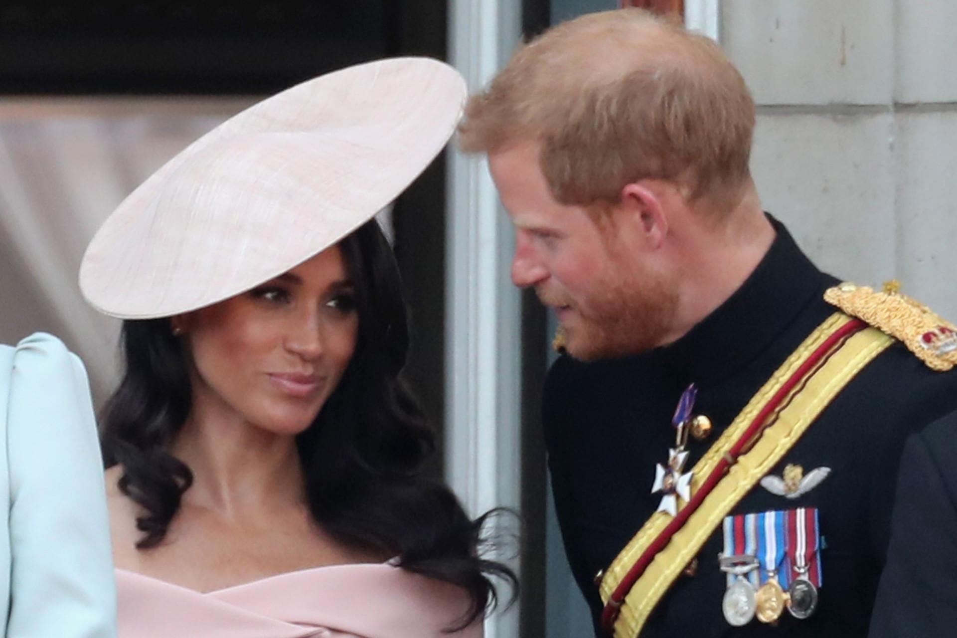 As palavras que Harry e Meghan trocaram durante o aniversário da rainha