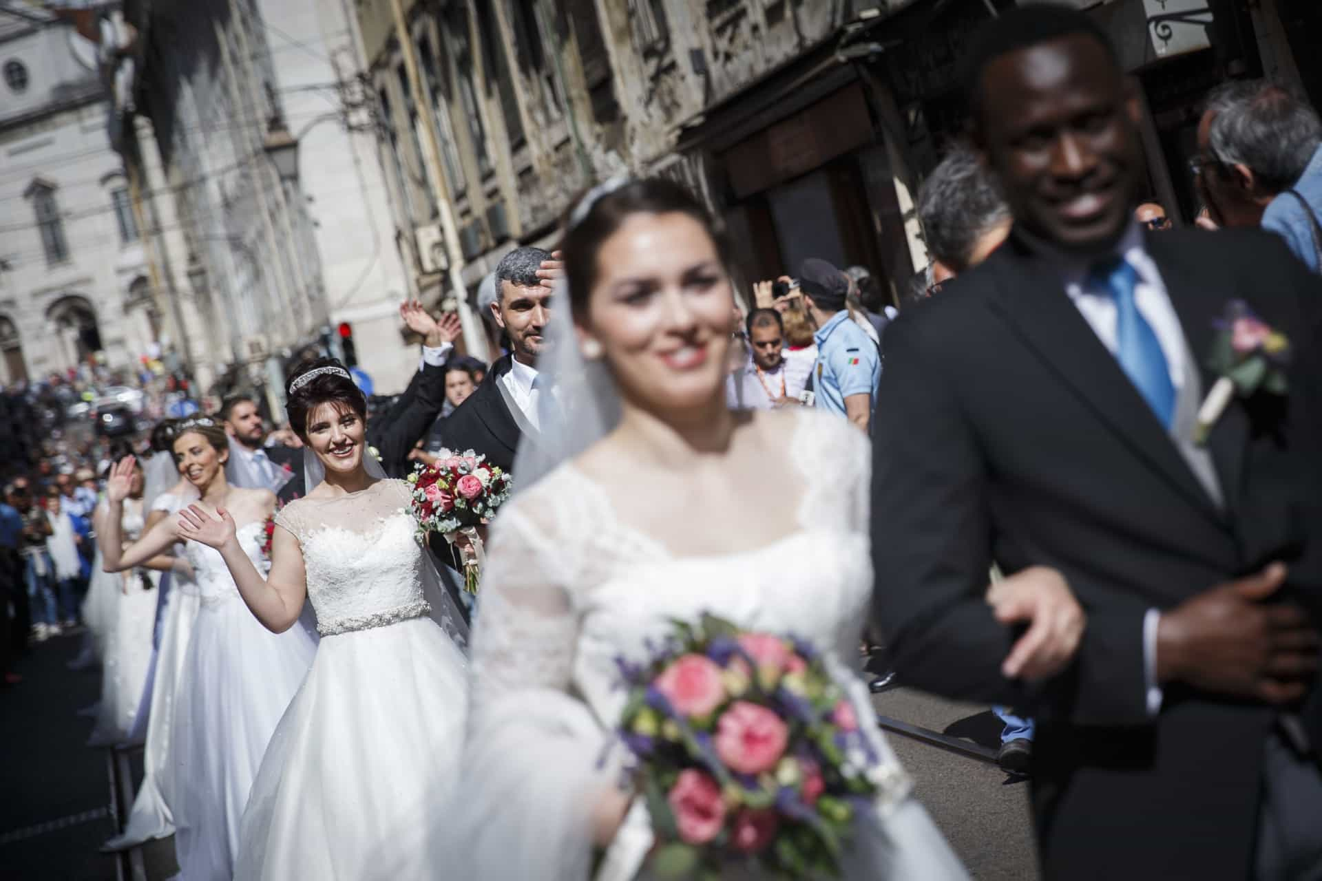 Os momentos 'mágicos' das Noivas de Santo António