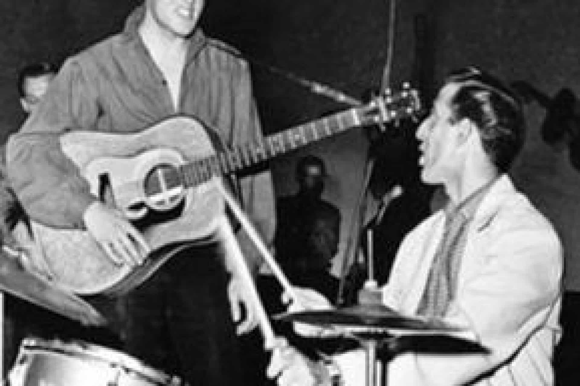 Morreu DJ Fontana, o último elemento da banda original de Elvis Presley