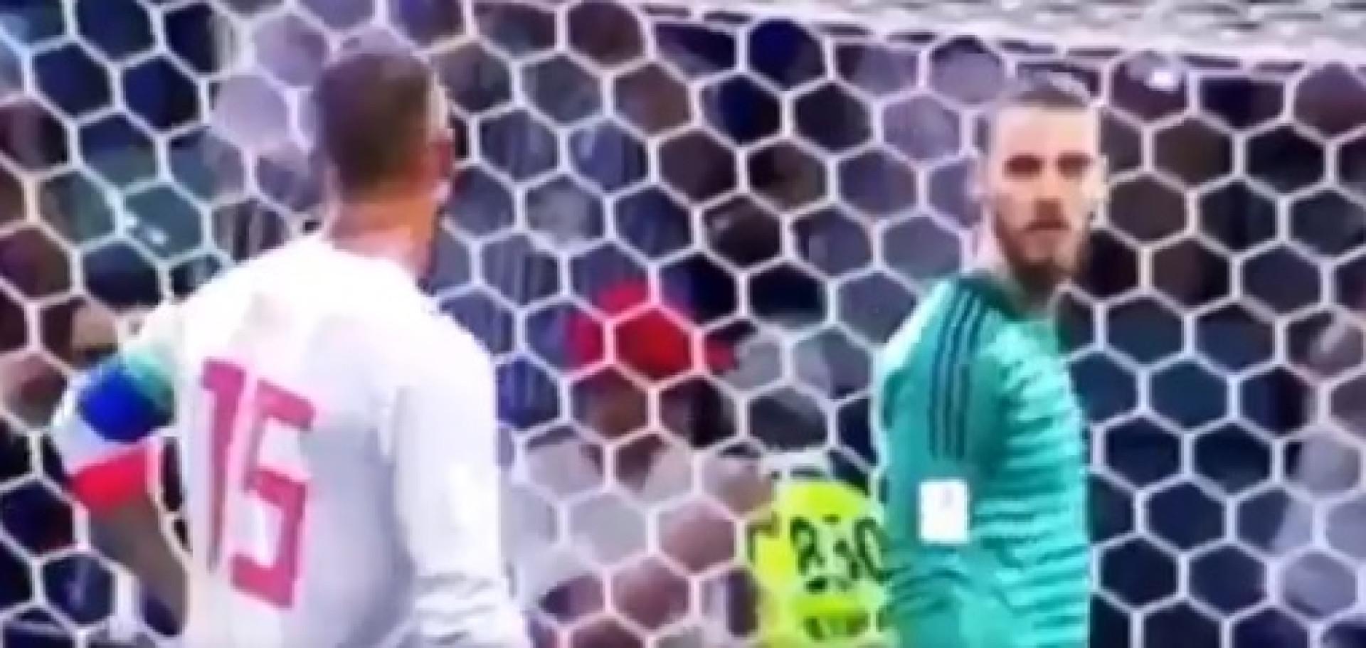 Penálti: Ramos tentou 'tramar' Ronaldo e dizer para onde ia marcar o luso