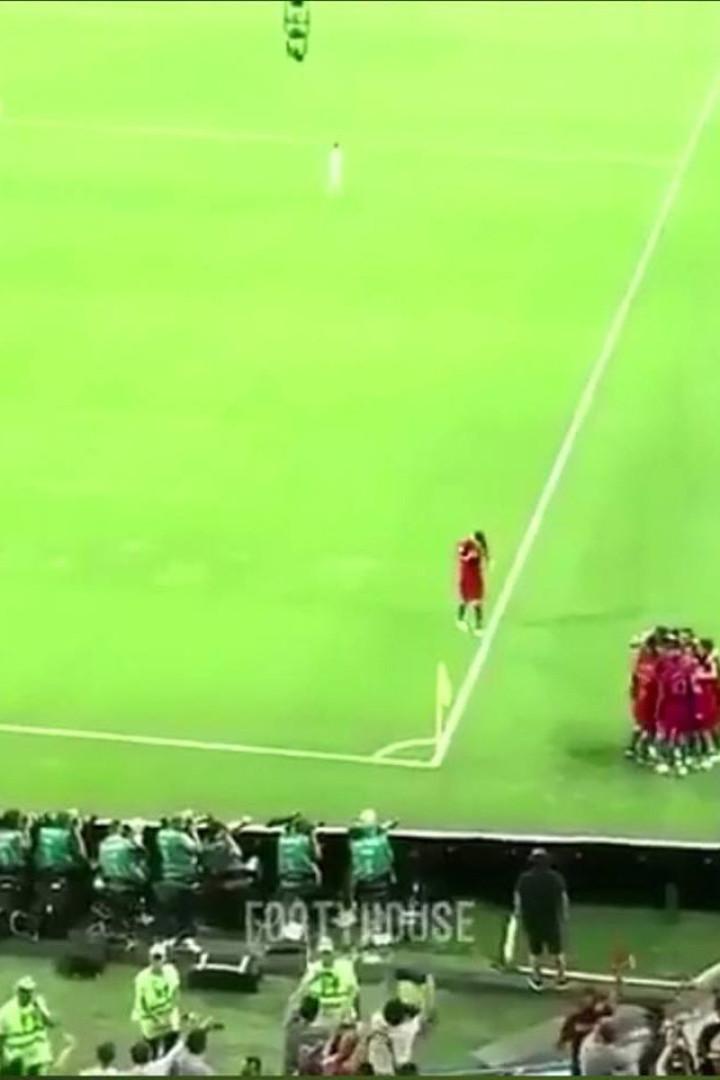 A explicação para os golos não serem celebrados por toda a equipa