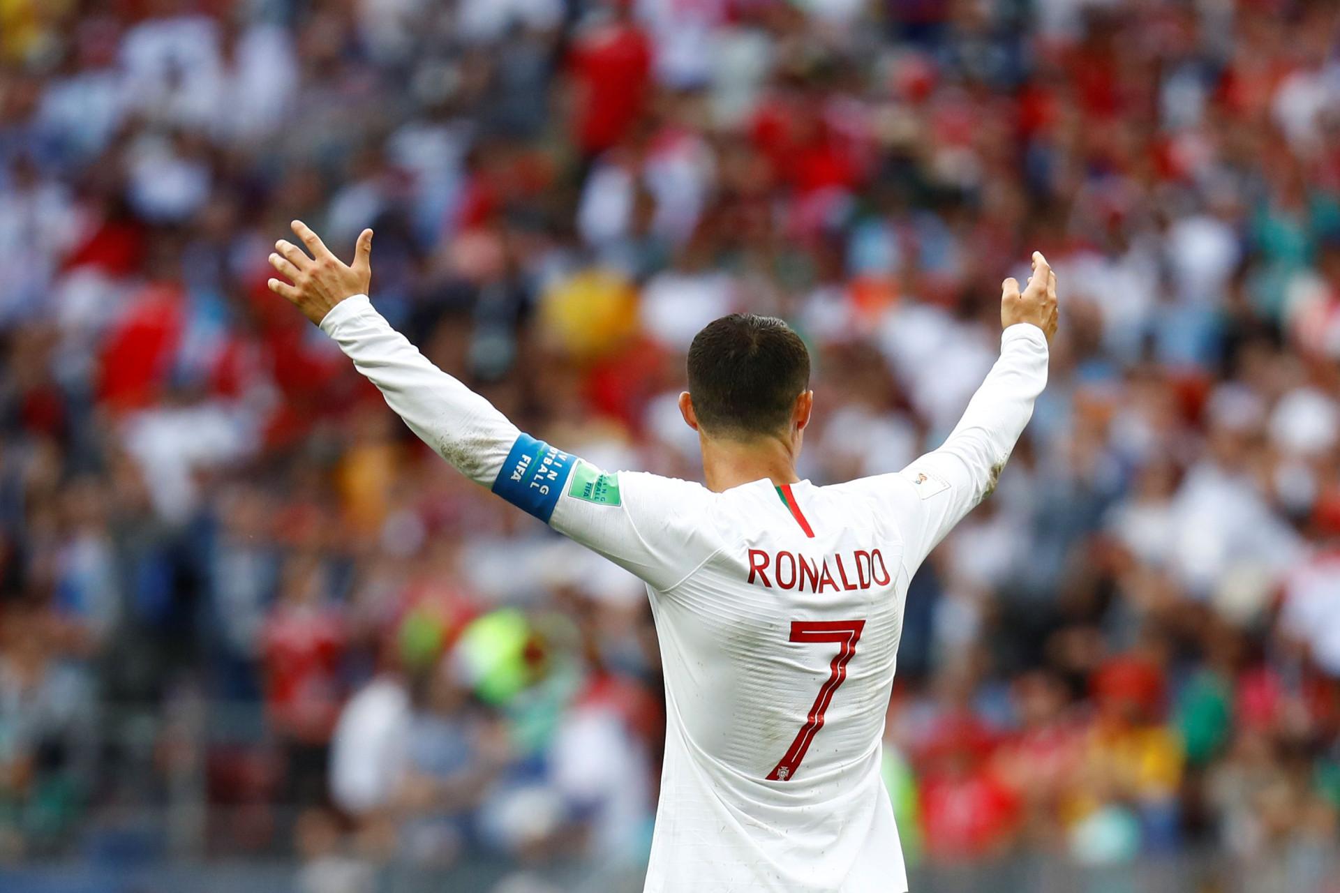 Assim relatou o mundo o golo de Cristiano Ronaldo