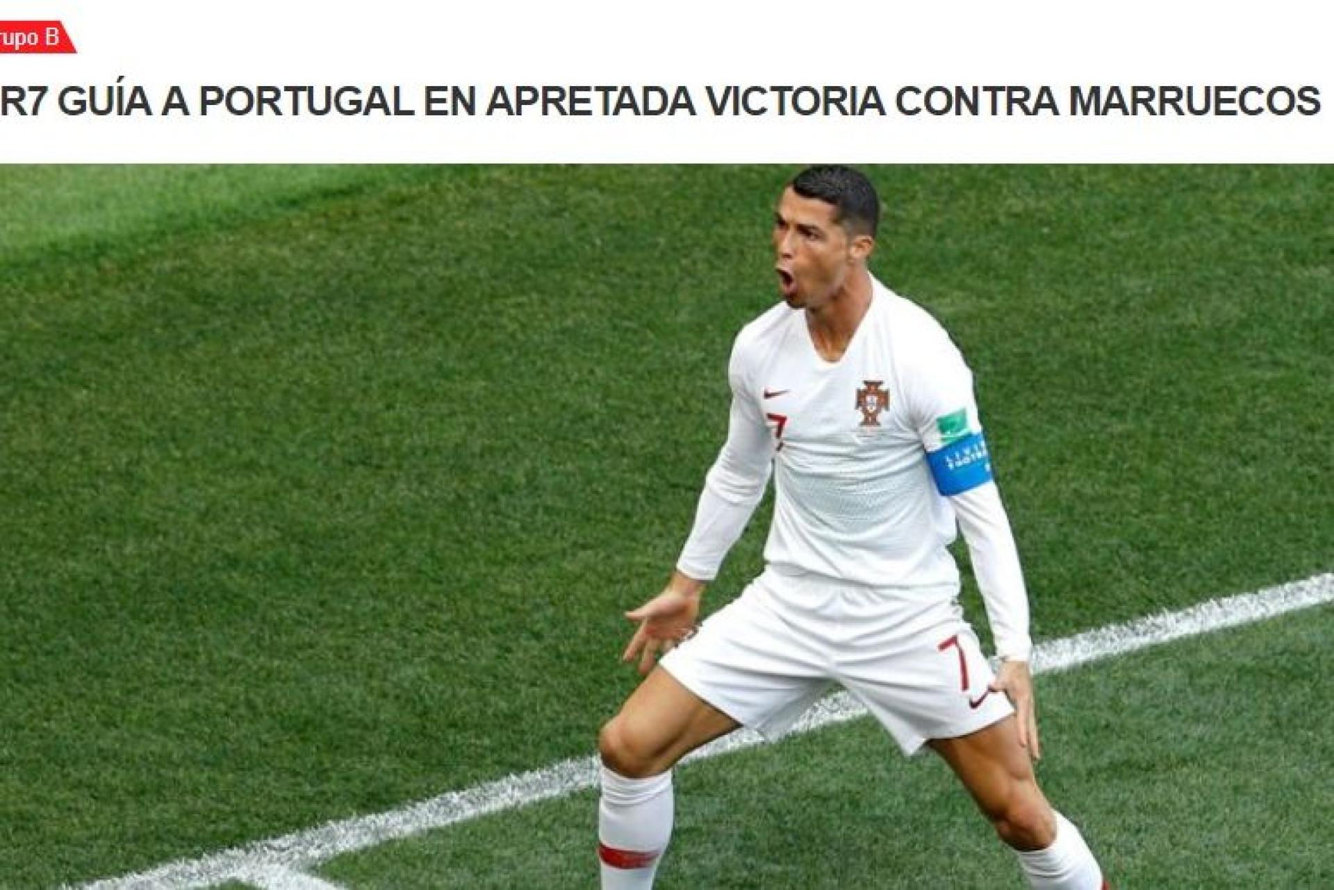 """Em terra de Messi, 'grita-se' """"San Cristiano"""": O que se diz lá fora"""