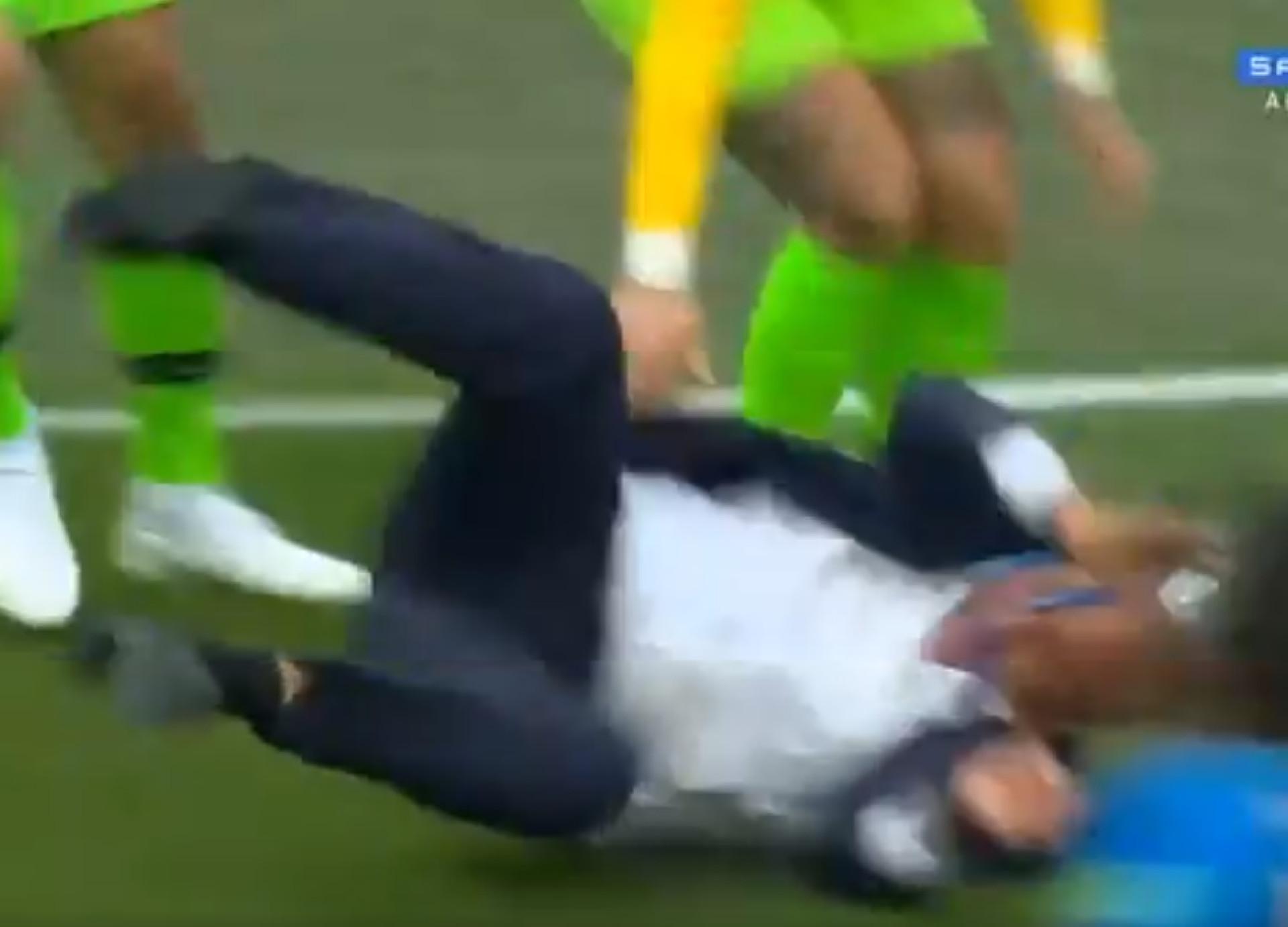 Brasil foi à loucura e Tite... foi ao chão