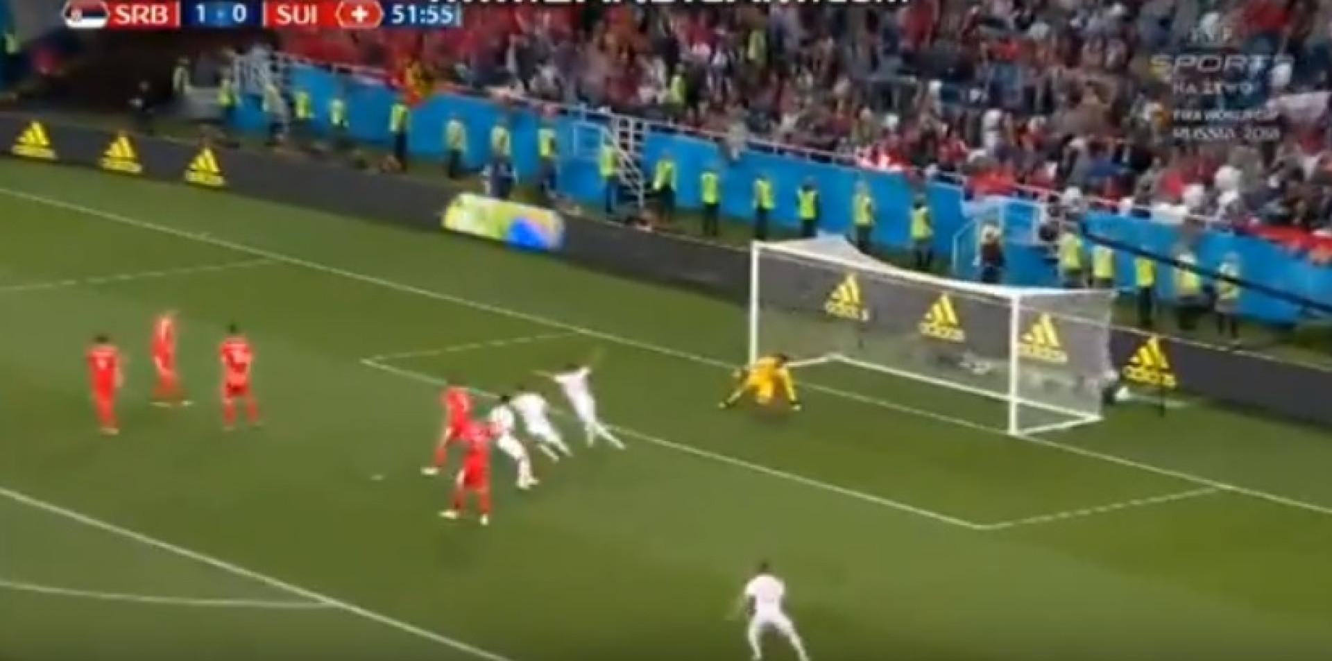 'Trovão' de Xhaka pode ser candidato a golo do Mundial