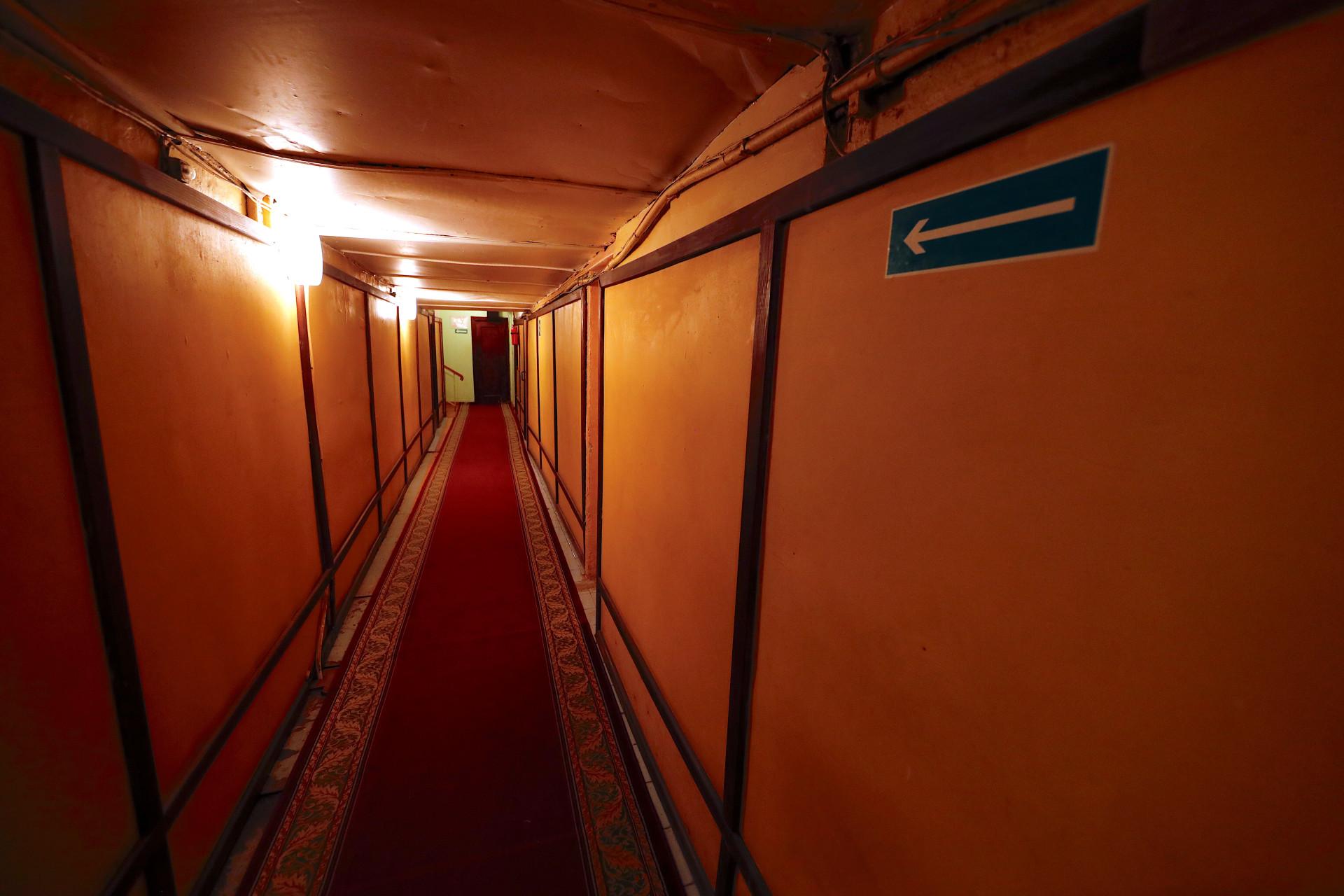 O bunker secreto de Estaline na Segunda Guerra Mundial