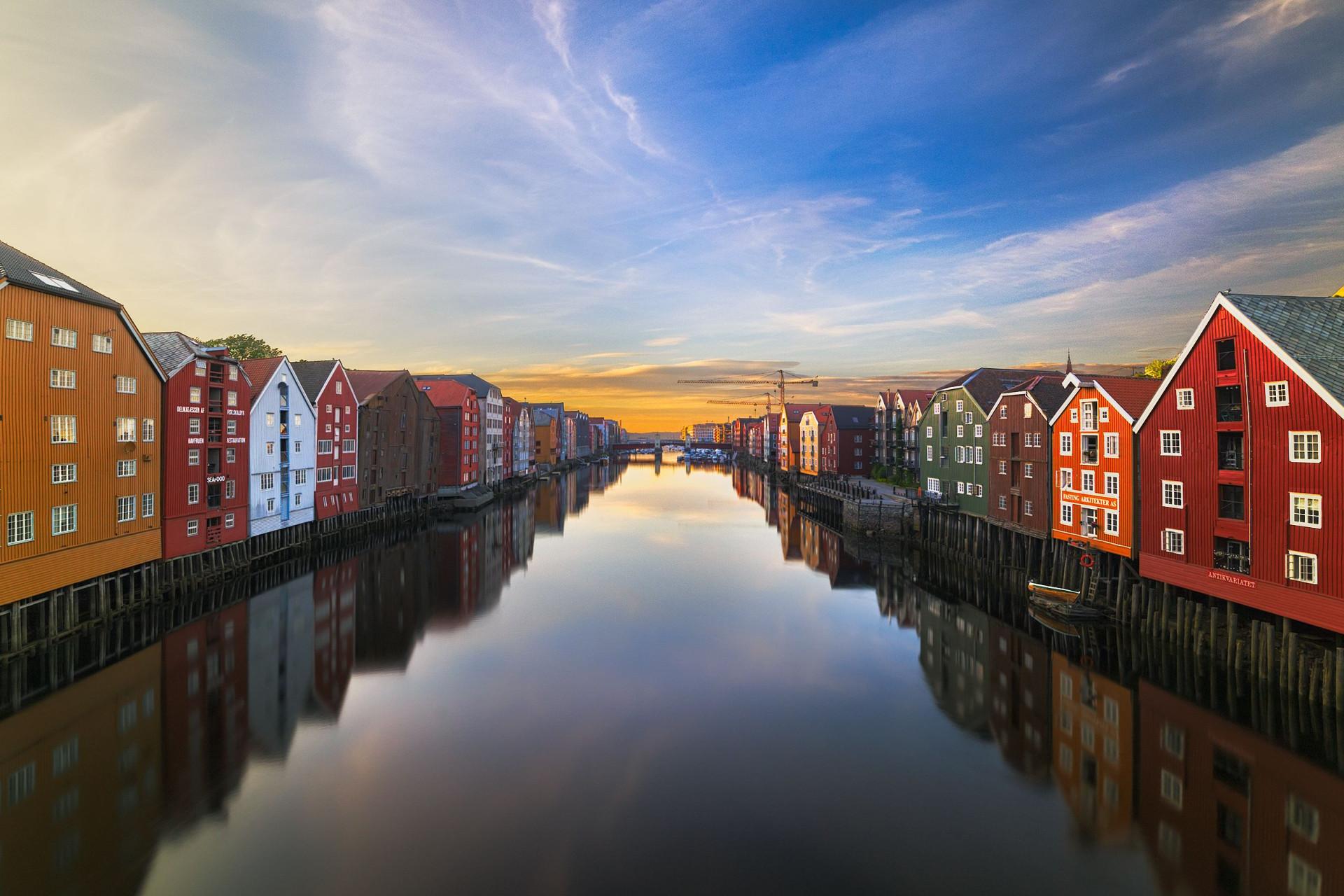 As dez mais belas cidades escandinavas