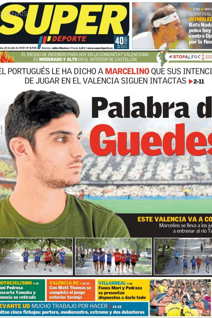 Lá Fora: Neymar, Cristiano Ronaldo e a palavra de Guedes ao Valencia