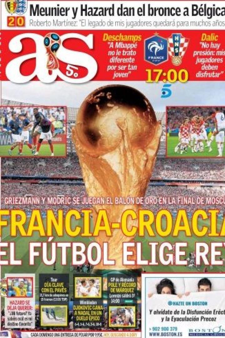 Lá por fora: A final do Mundial e o Ronaldo de 'ouro'