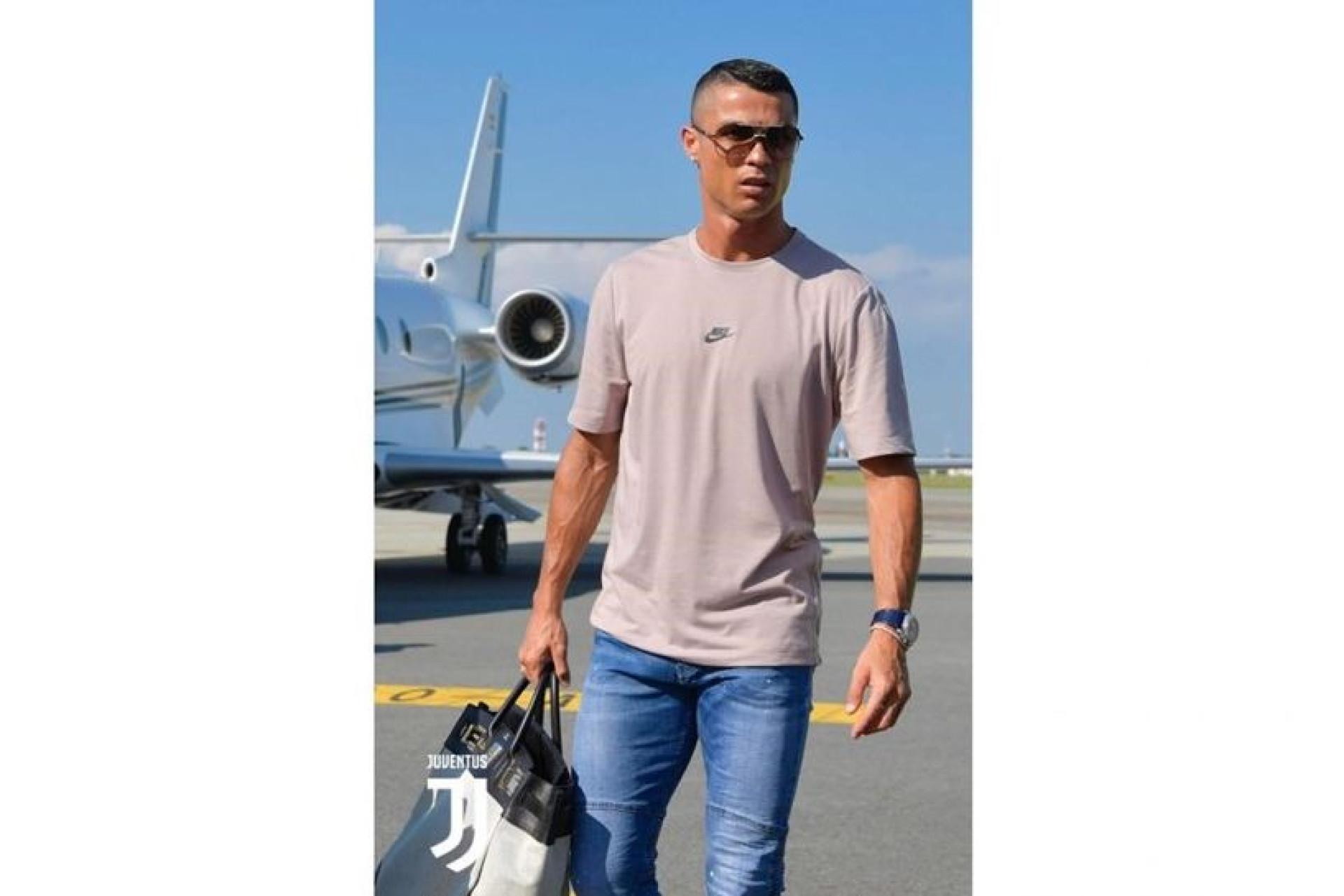 Adeptos da Juventus, podem acreditar! Aí está Cristiano Ronaldo