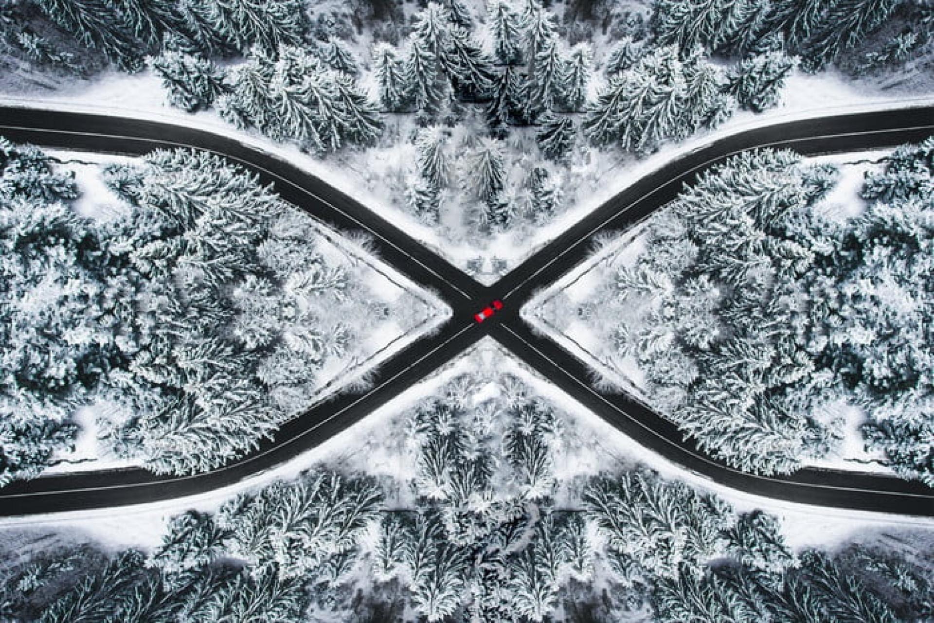 As fotografias captadas com drones que lhe vão tirar a respiração