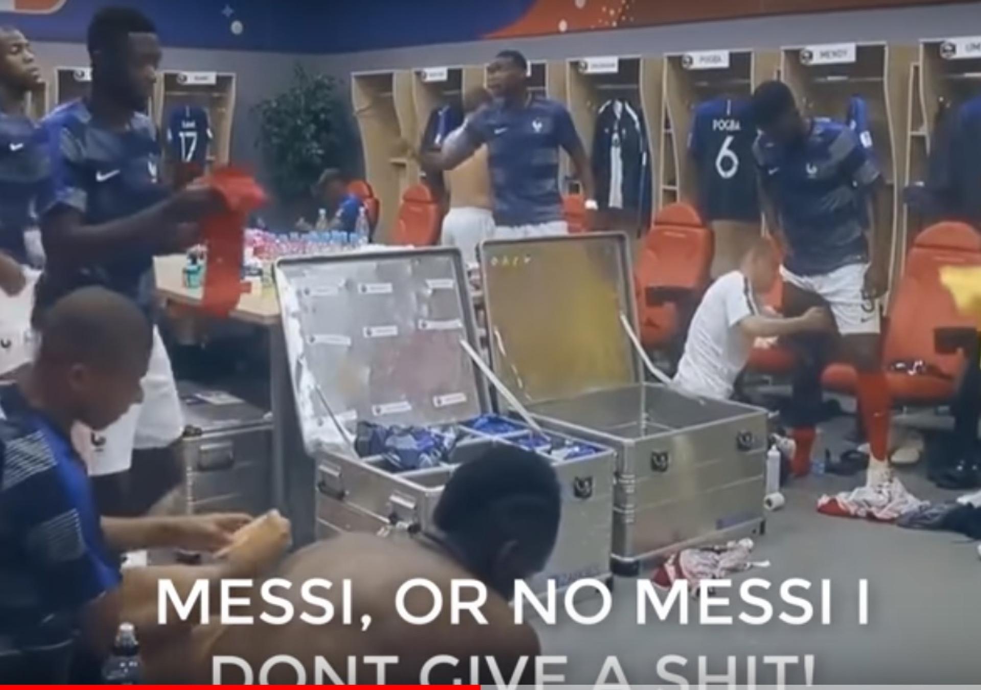 """Revelados discursos de Pogba: """"Com Messi ou sem Messi, estou-me a ca***"""""""
