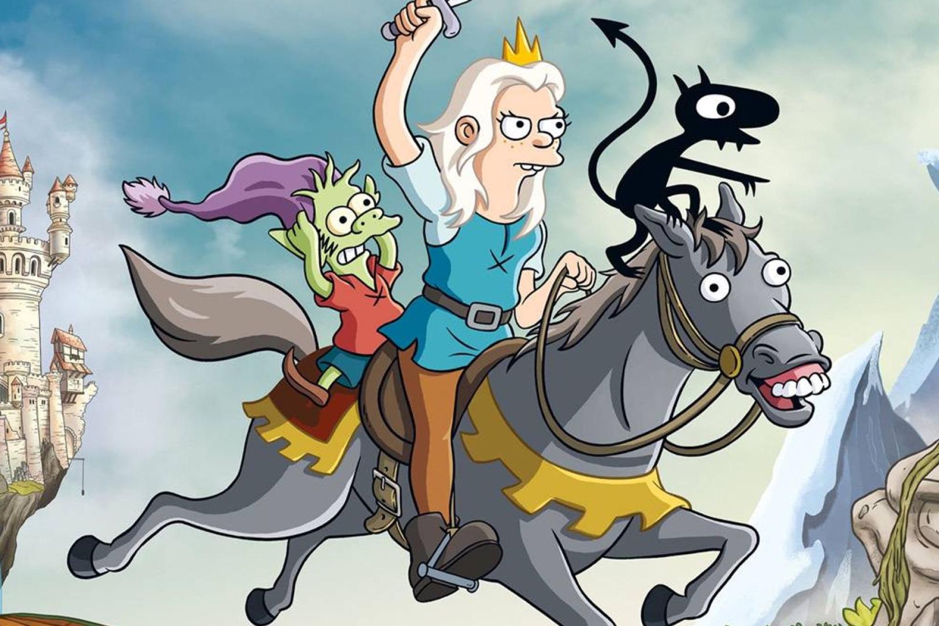 Nova série do criador de 'Simpsons' garantida por mais três anos