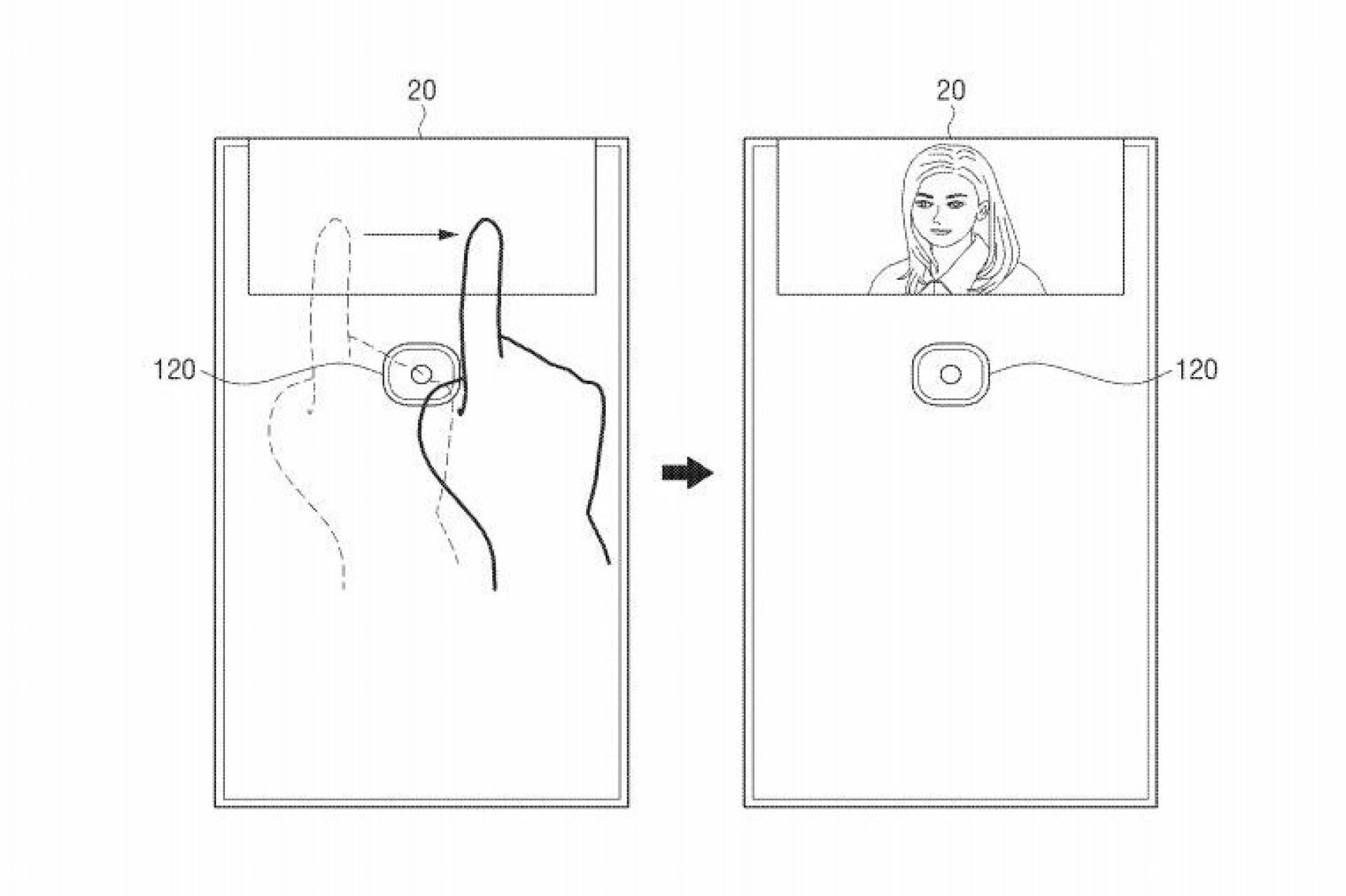 O smartphone dobrável da Samsung pode vir a dar jeito para selfies
