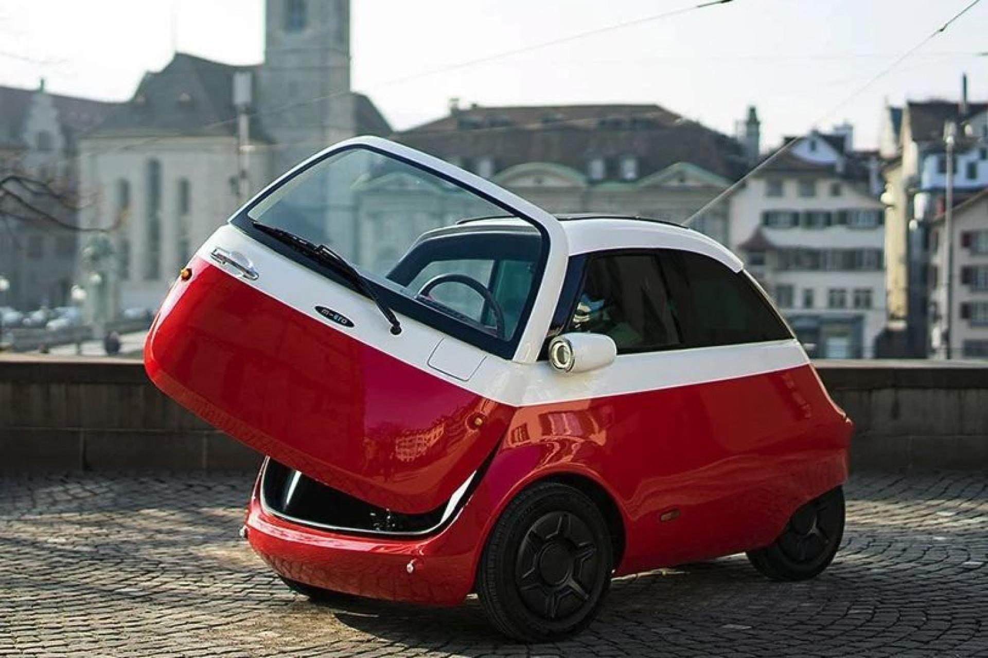 Microlino, o carro elétrico que está prestes a 'invadir' a Europa