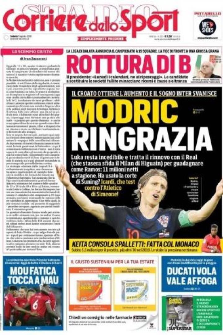 Lá por fora: O fim da 'novela' Modric e a dupla CR7-Dybala