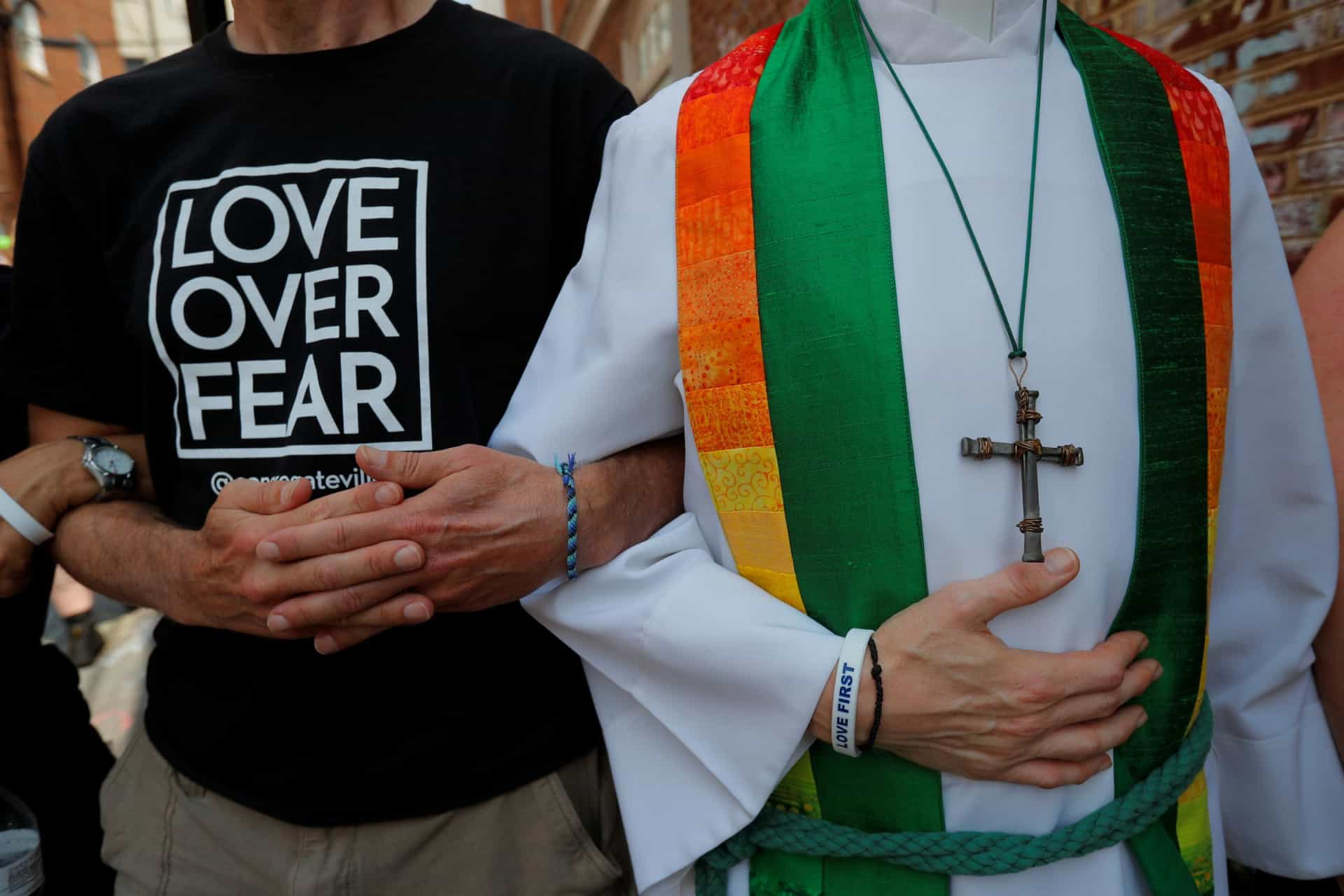 O amor em vez do medo. O luto em Charlottesville, um ano depois