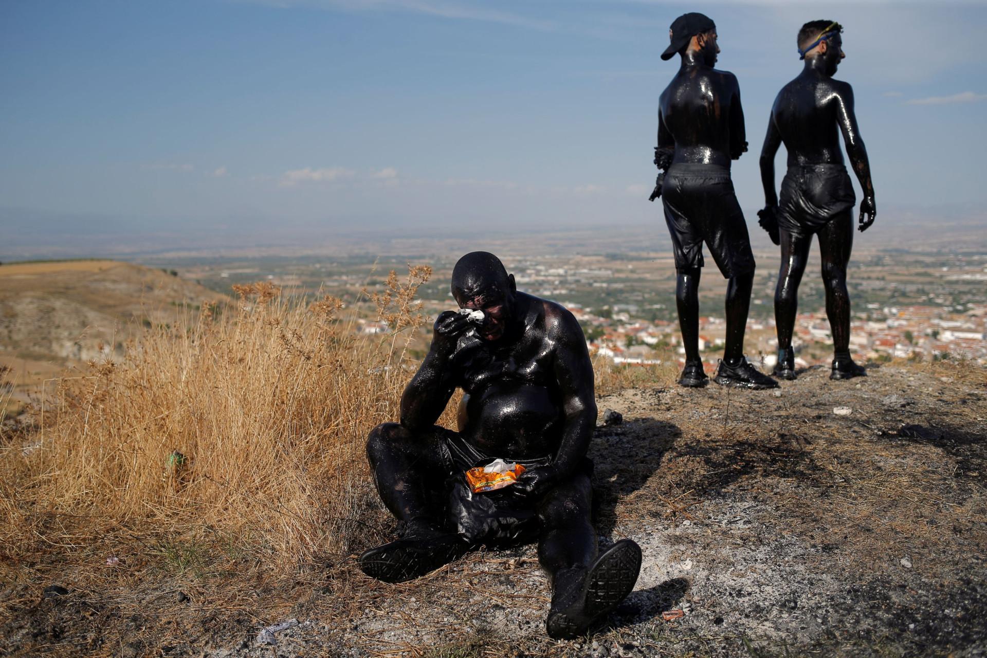 Em Espanha não há só Tomatina, também há outra festa 'suja': Cascamorras