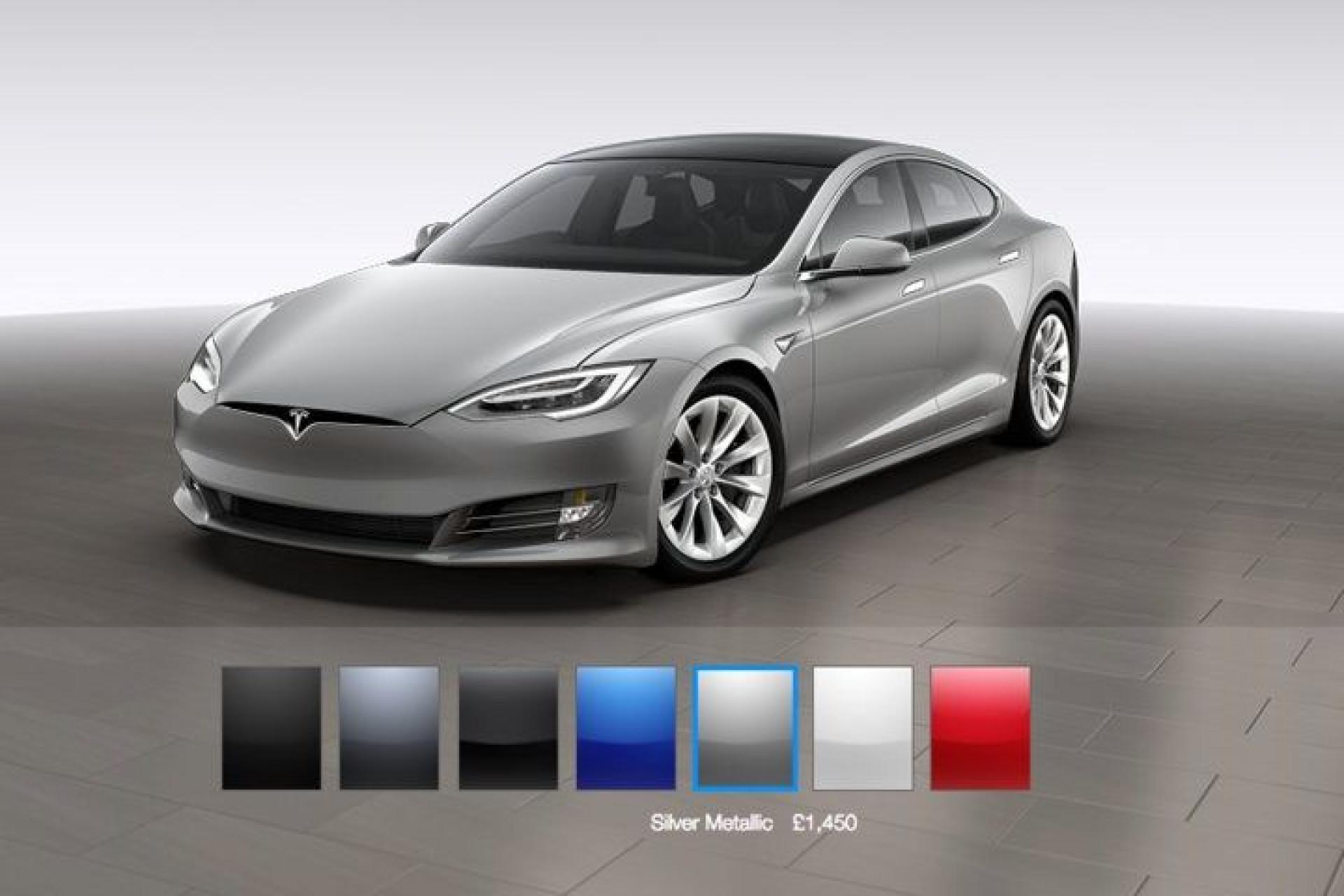 Tesla quer acelerar produção retirando duas cores