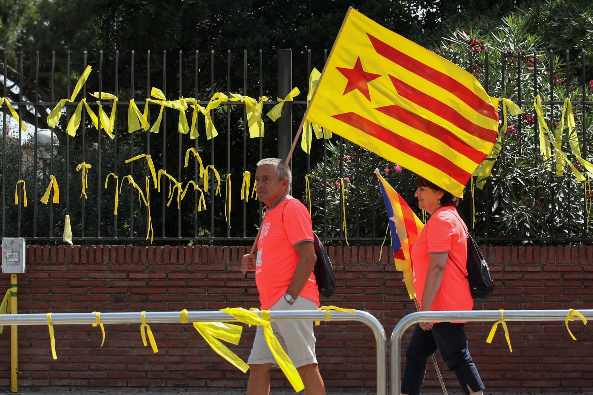 A 'Diada pela República' saiu à rua para dar força ao independentismo