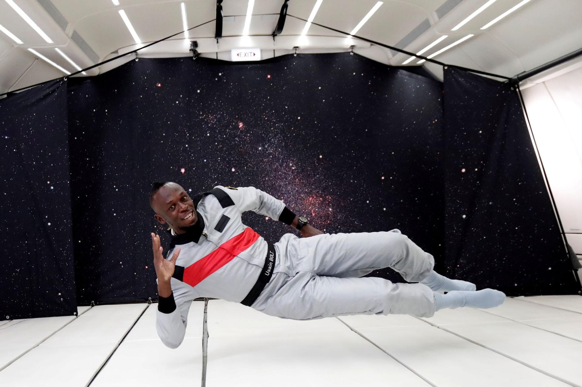 Bolt corre em gravidade zero e parte à conquista do Espaço