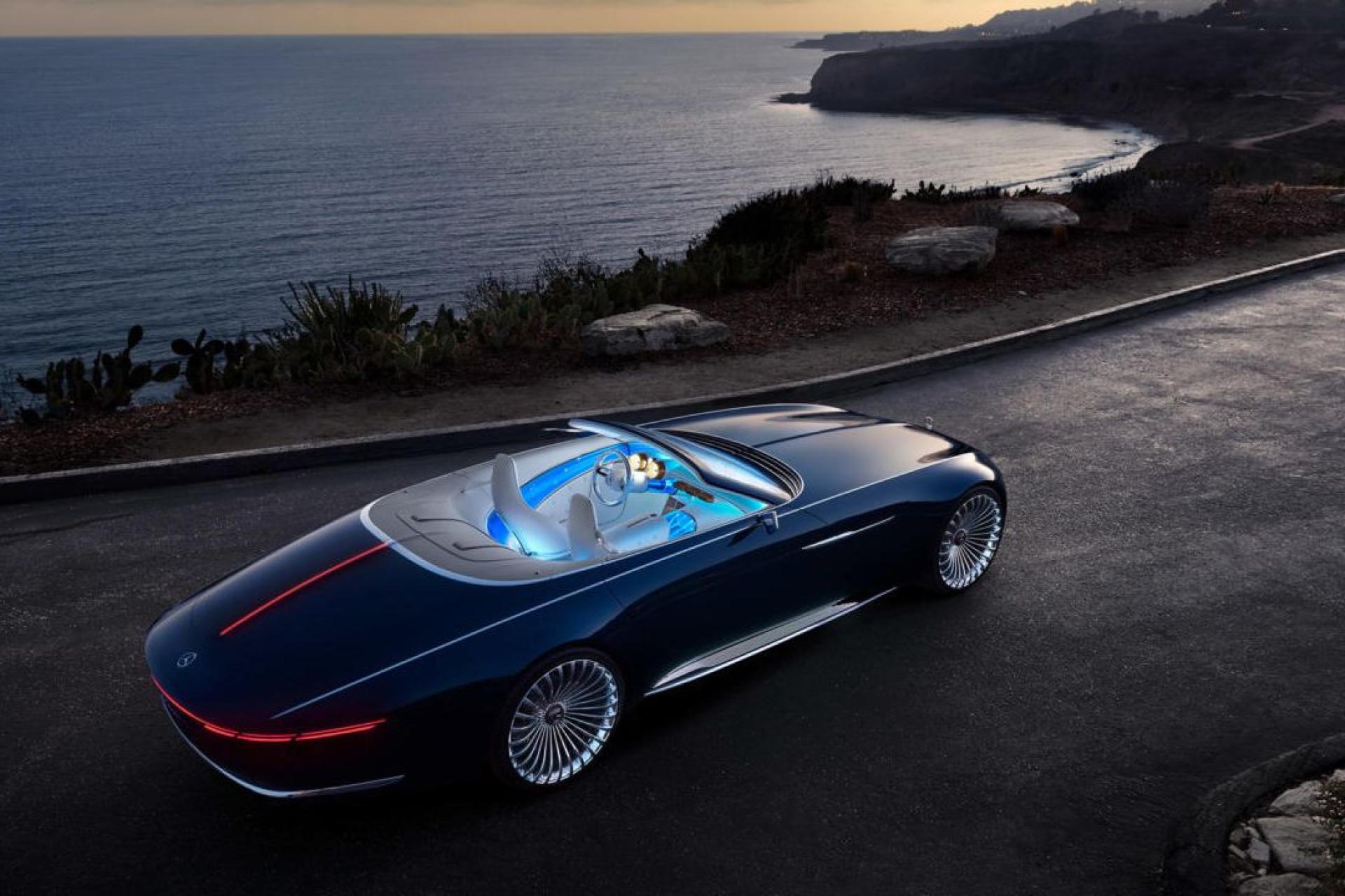 Maybach 6 Cabriolet: Um sonho em forma de carro
