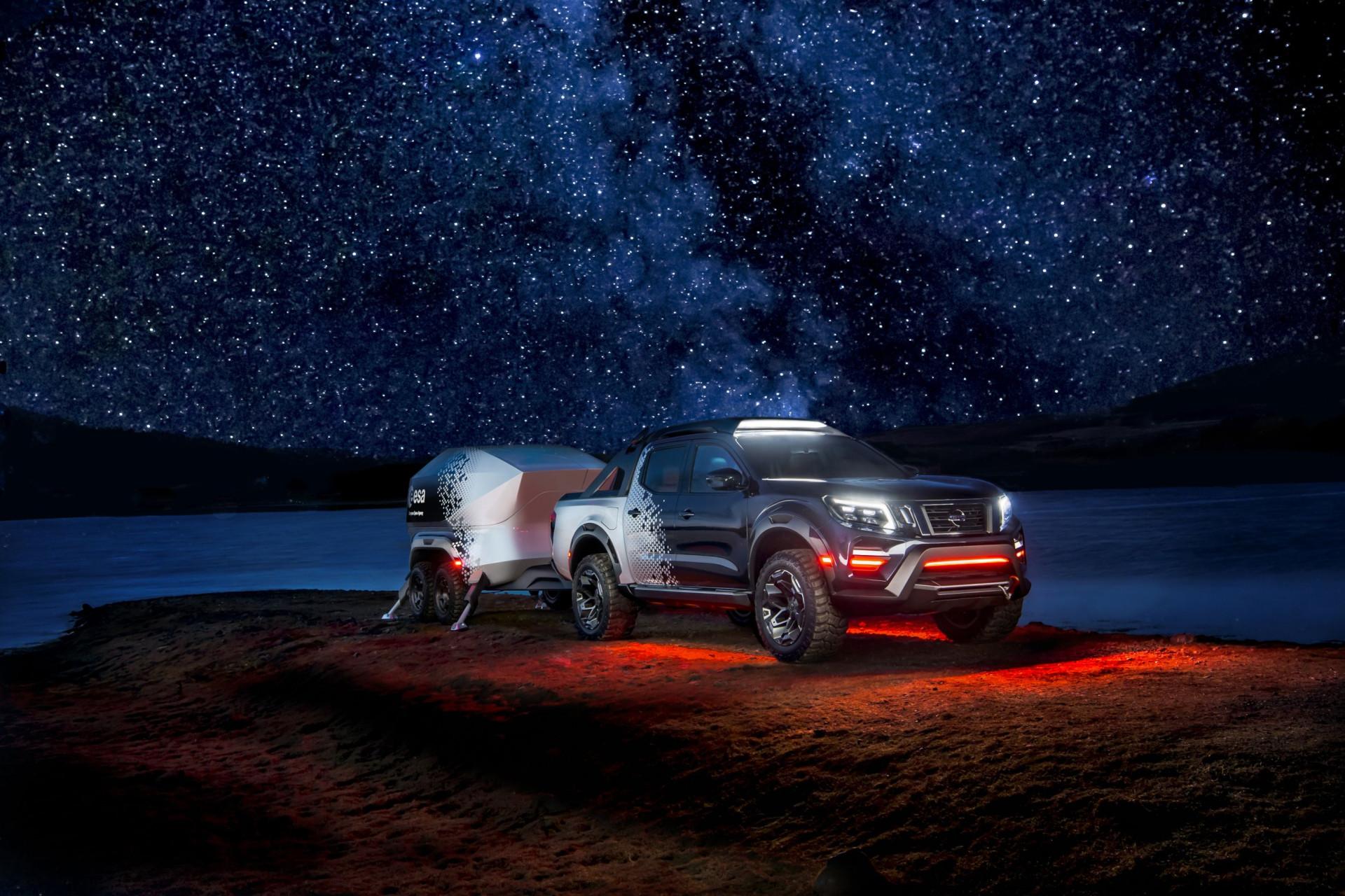 Este 'concept' da Nissan foi criado especialmente para astrónomos