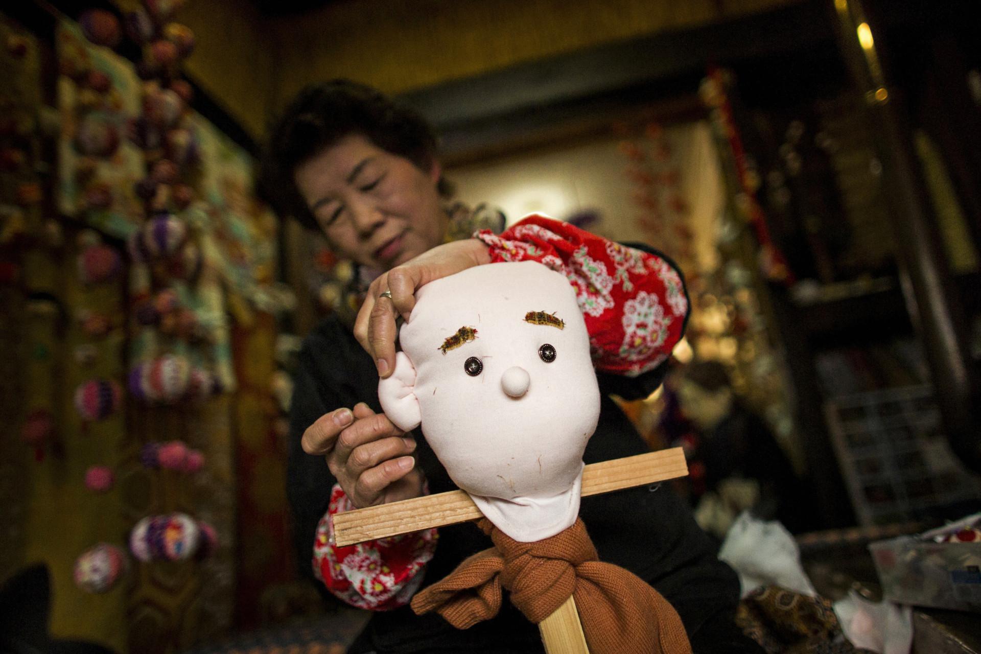 A aldeia japonesa que ganhou 'vida' de uma forma bizarra