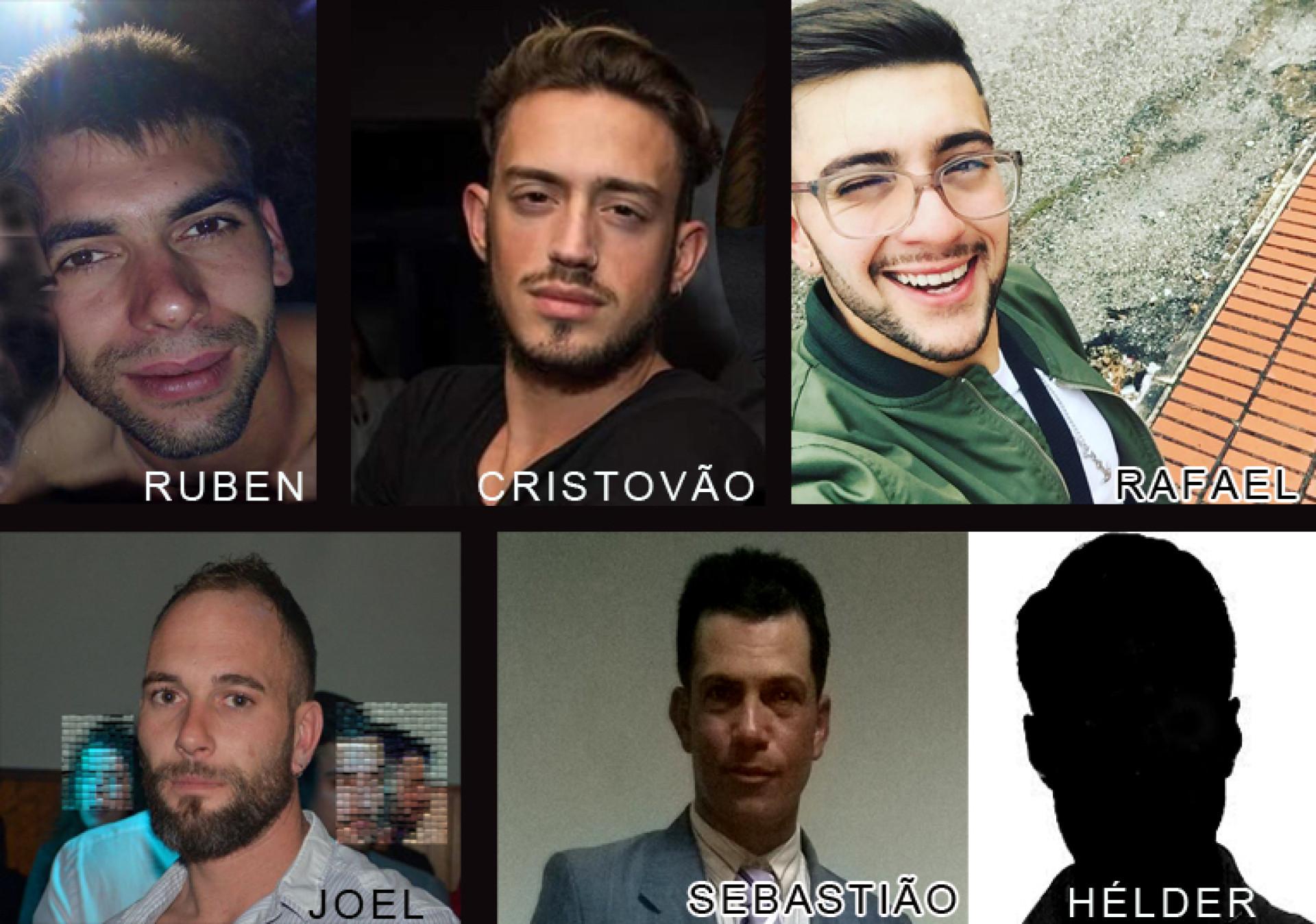 São estes os rostos da tragédia no IC8, em Pombal