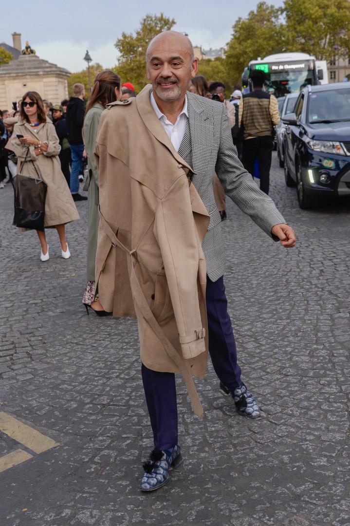 Os looks dos famosos na Paris Fashion Week