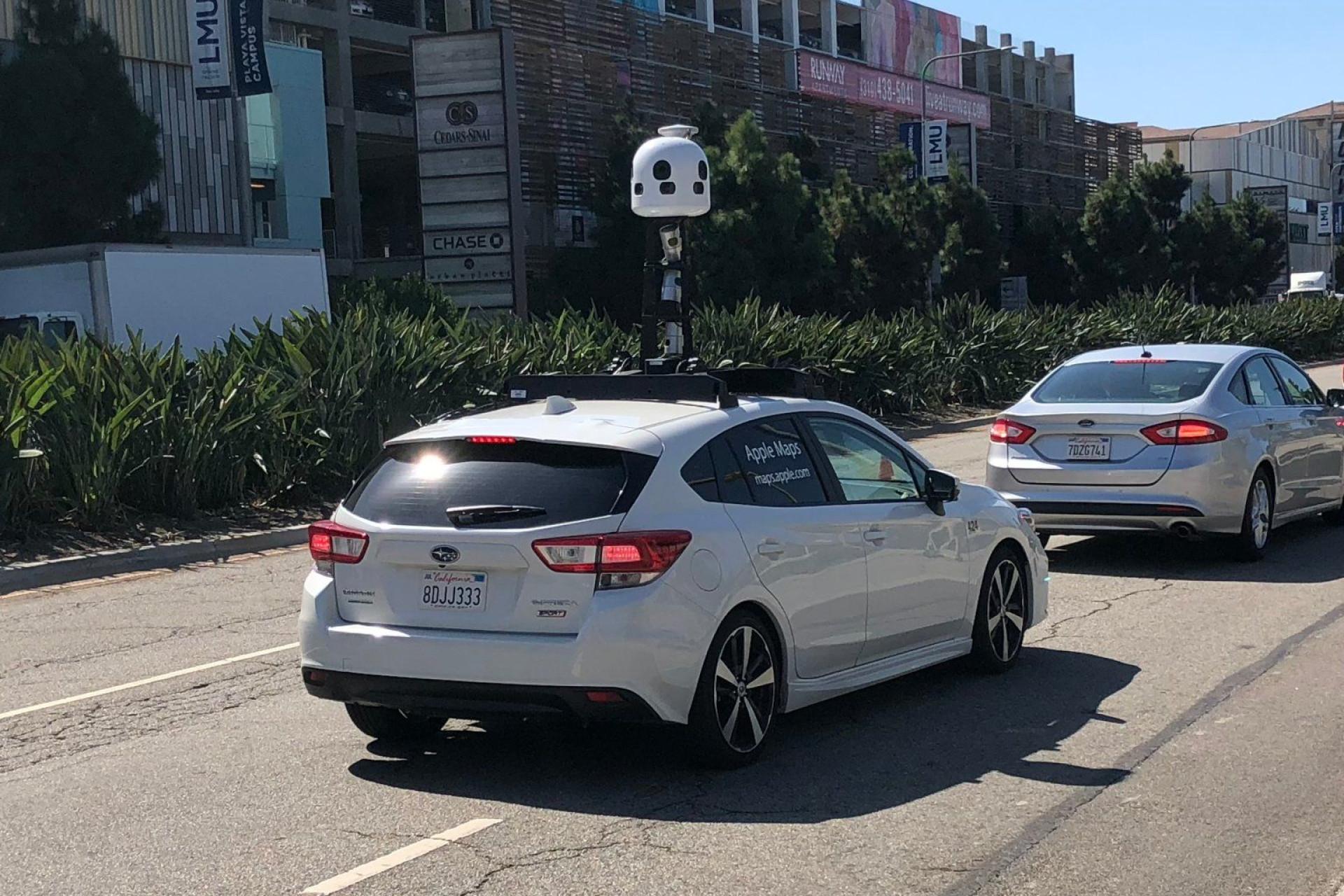 Apple vai usar novos carros para reunir dados de estradas
