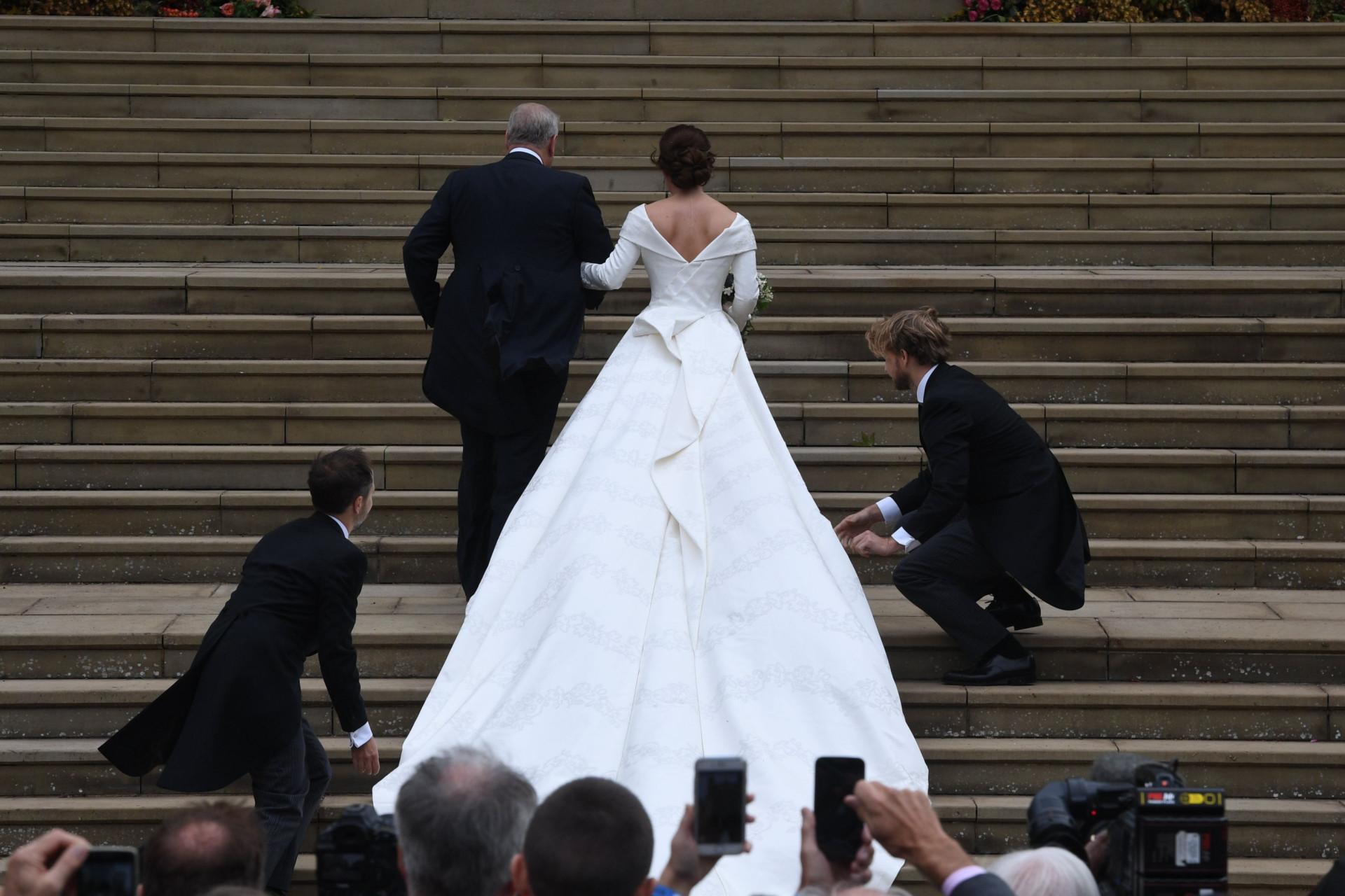 Galeria: Os pormenores do vestido de noiva da princesa Eugenie