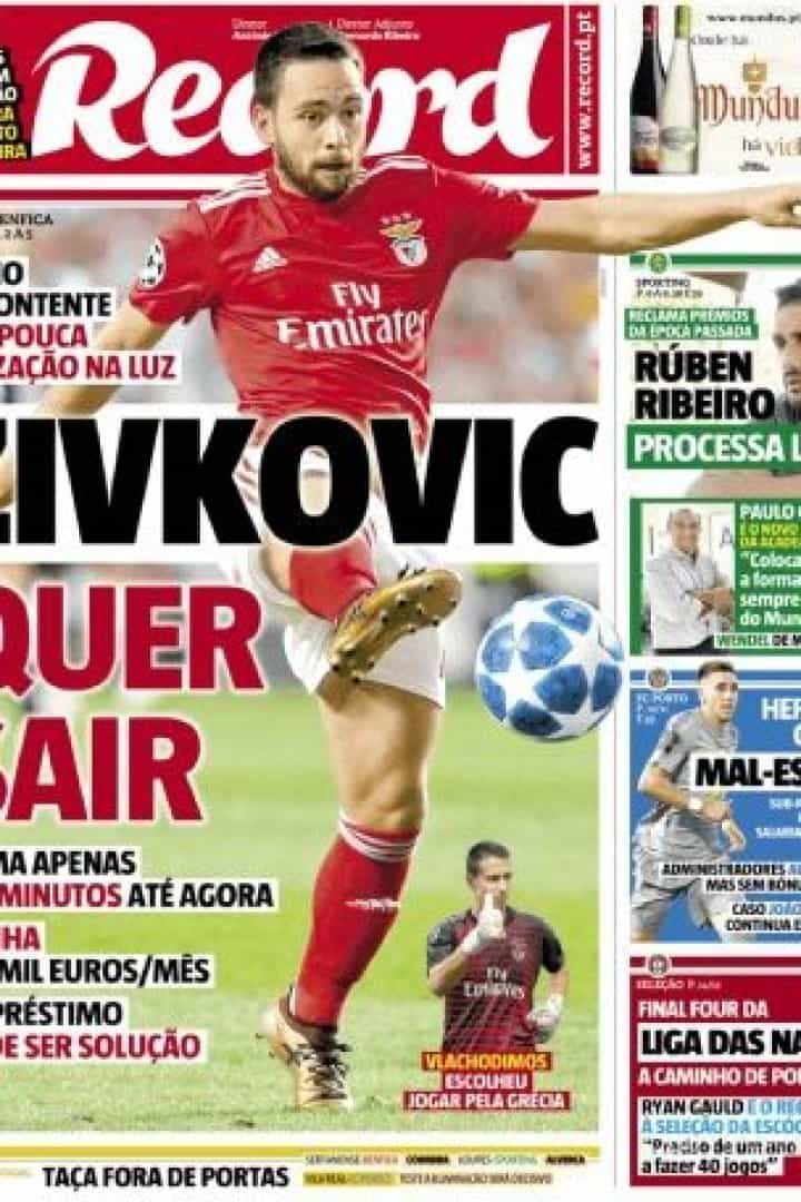 Cá dentro: A entrevista de José Peseiro e o 'desejo' de Zivkovic