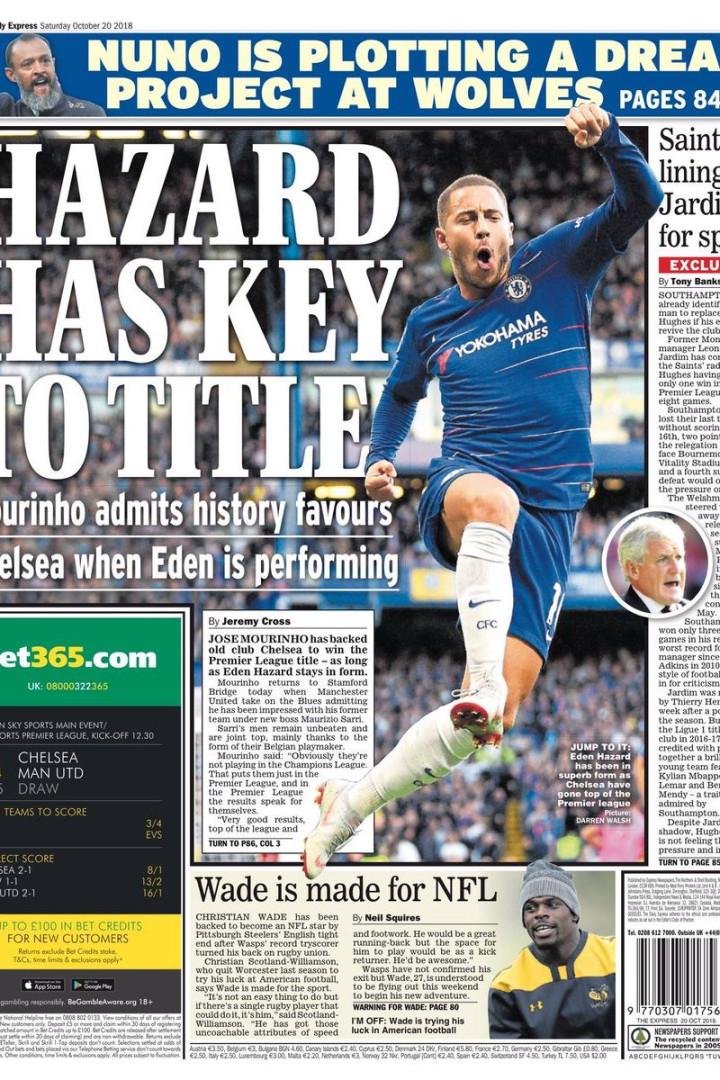 Lá fora  O duelo de goleadores em Itália e as palavras de Mourinho 290d6e4c5867d