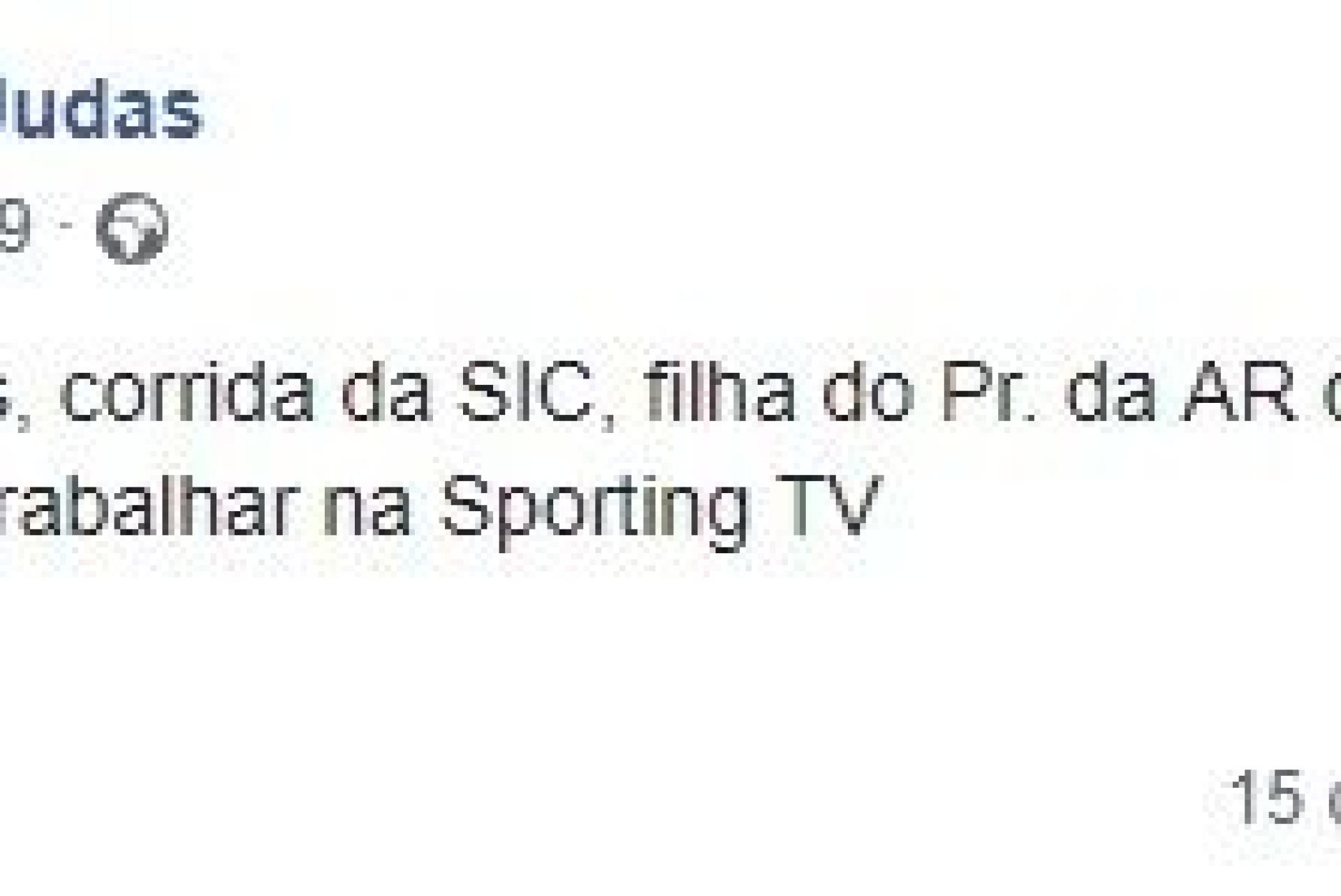 Rita Ferro Rodrigues é o novo rosto da Sporting TV
