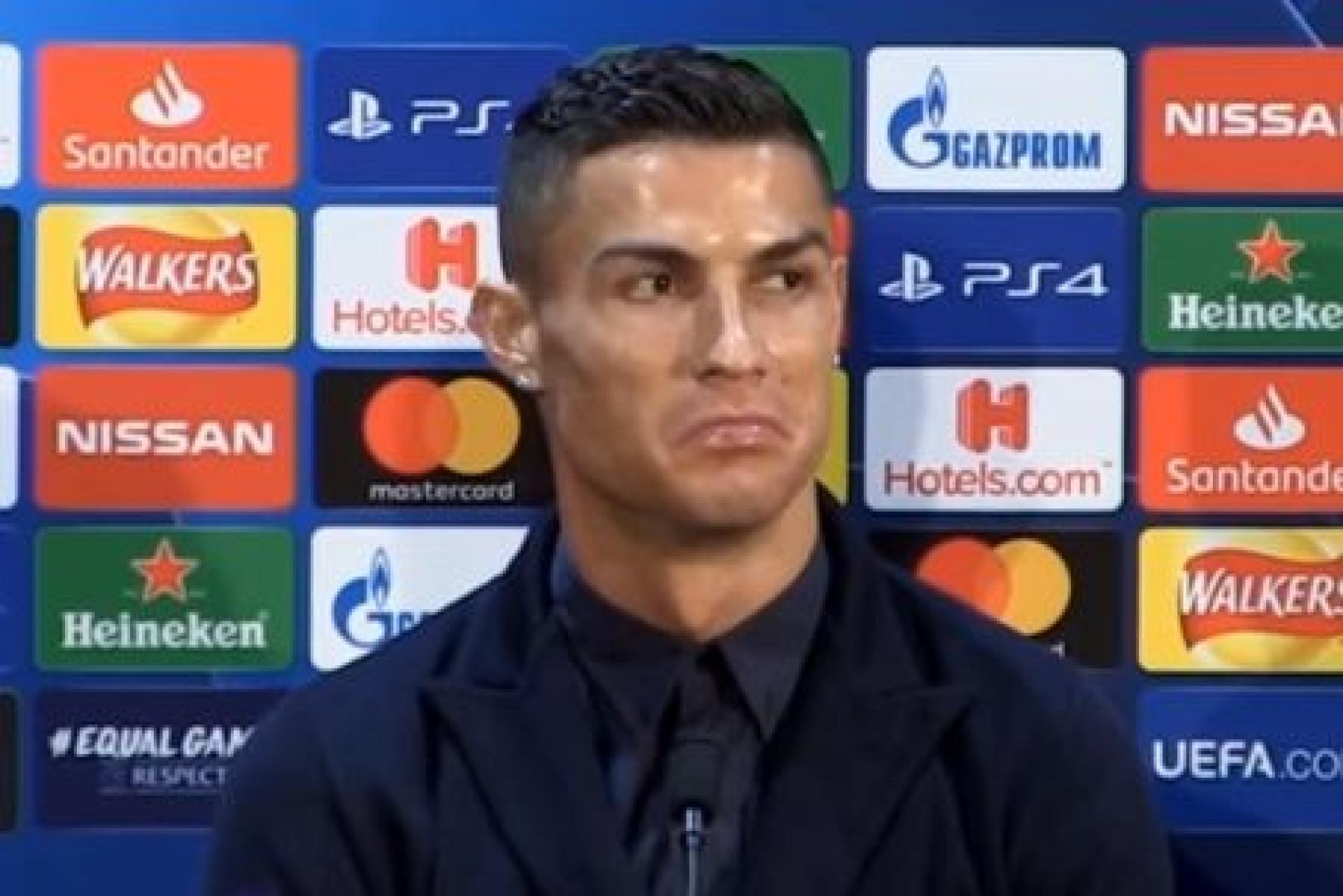 """Ronaldo responde a Isco: """"Não se pode chorar..."""""""