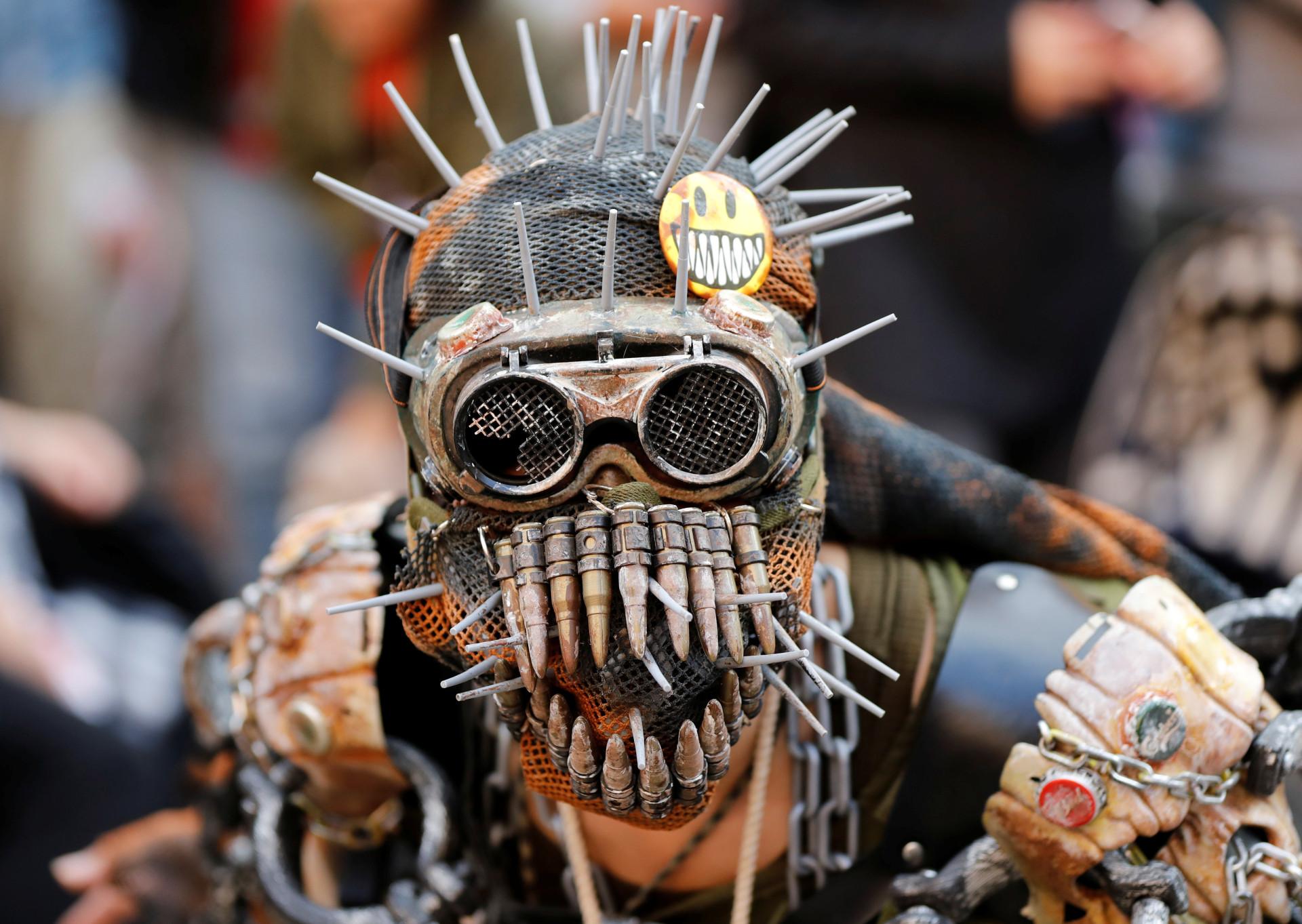 Volta ao mundo: As 'assustadoras' celebrações do Halloween