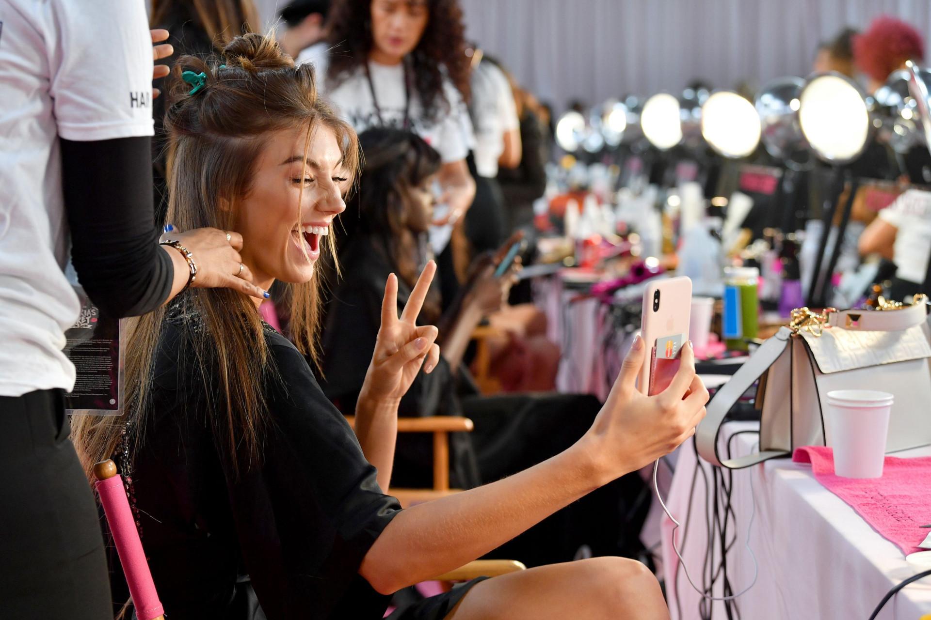 Os bastidores do Victoria's Secret Fashion Show 2018