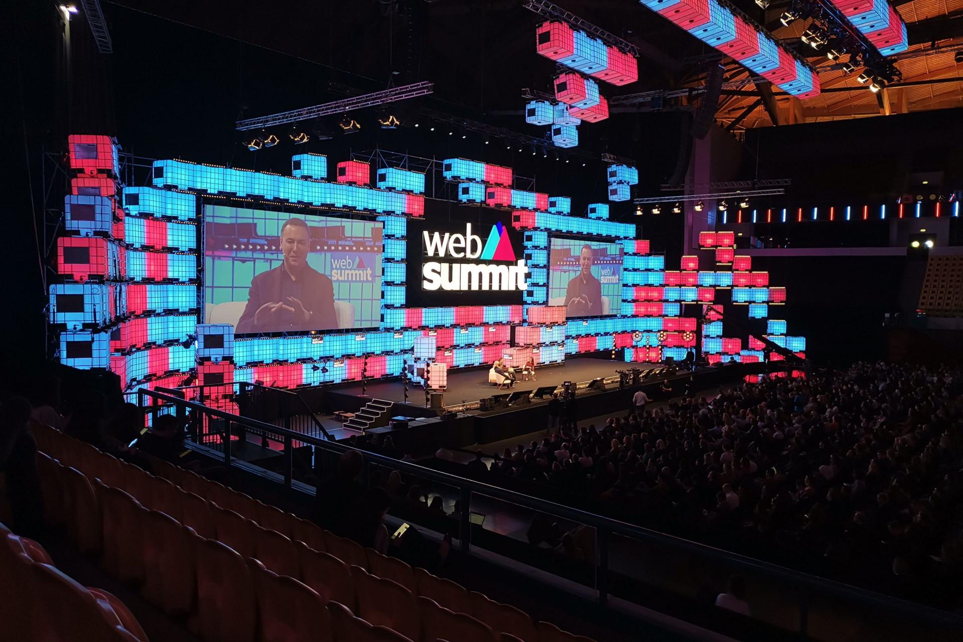 Chegou ao fim mais uma Web Summit. As imagens do último dia
