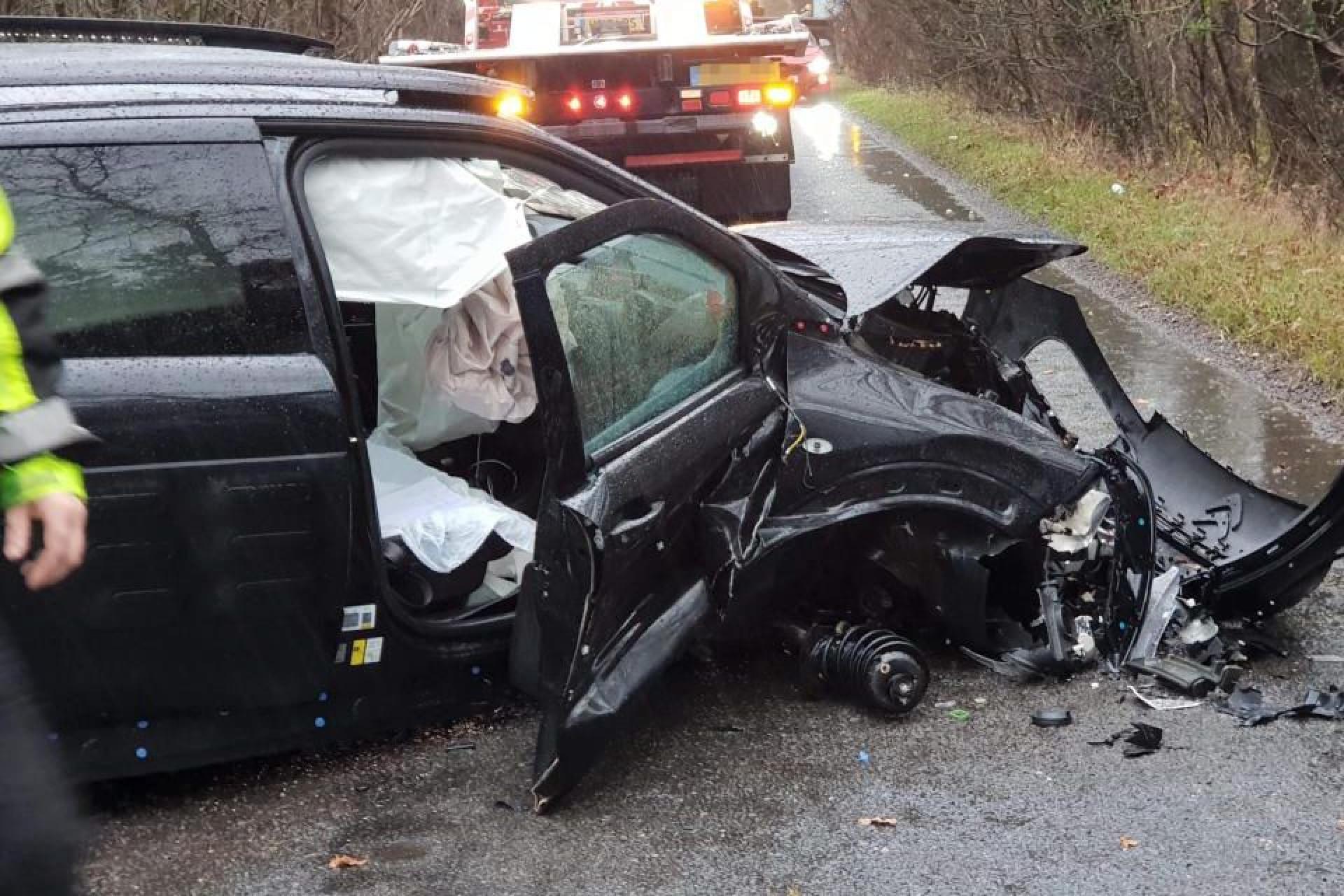 Jogador do Arsenal envolvido num aparatoso acidente de carro