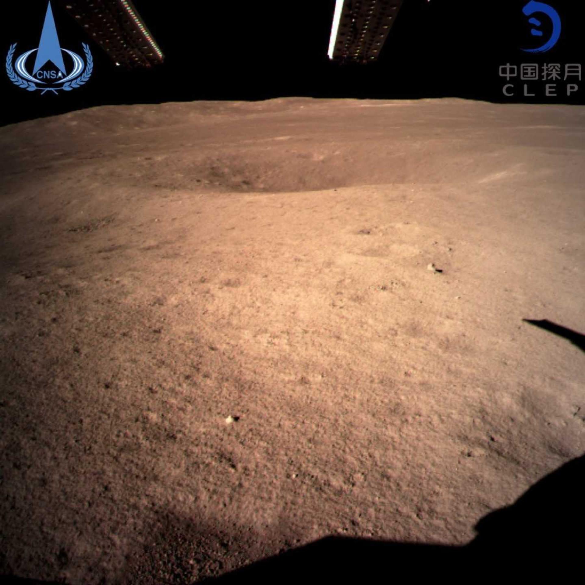 Sonda chinesa partilha fotografia do lado oculto da Lua