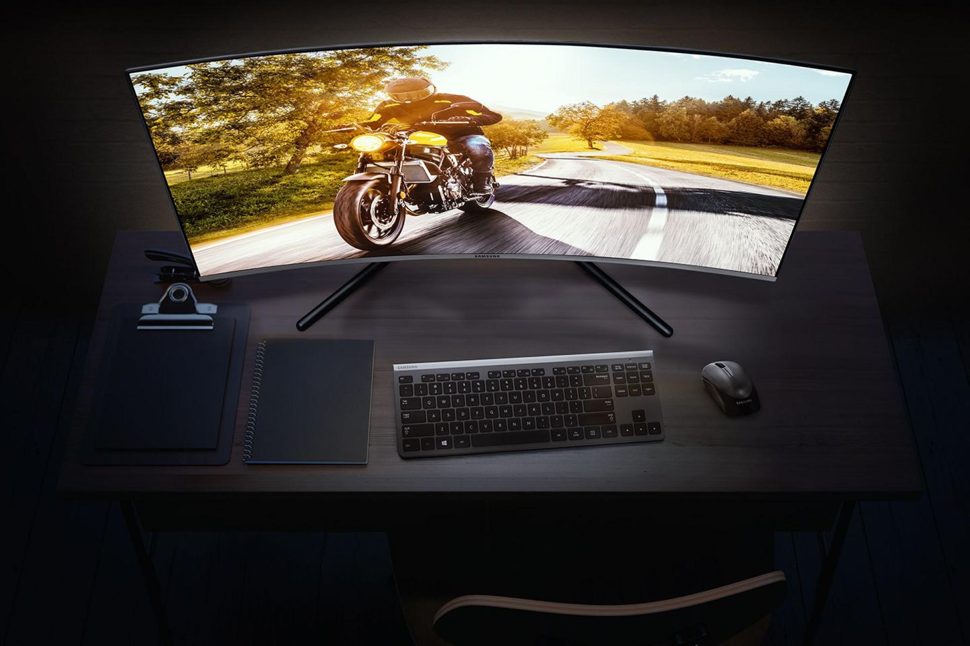 Samsung desvenda novos monitores para jogadores e criadores de conteúdo