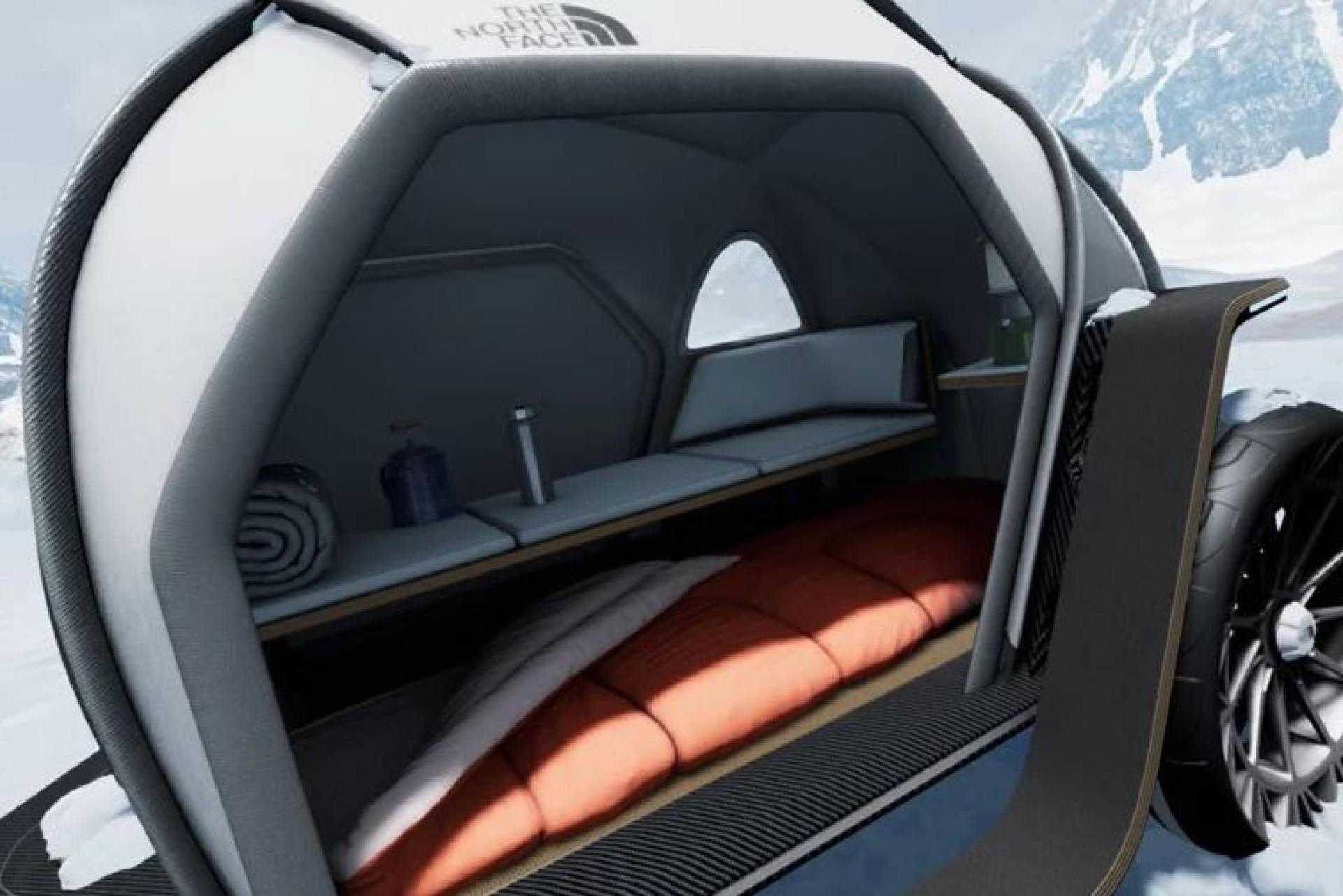 Divisão da BMW apresenta tenda com tecido inovador