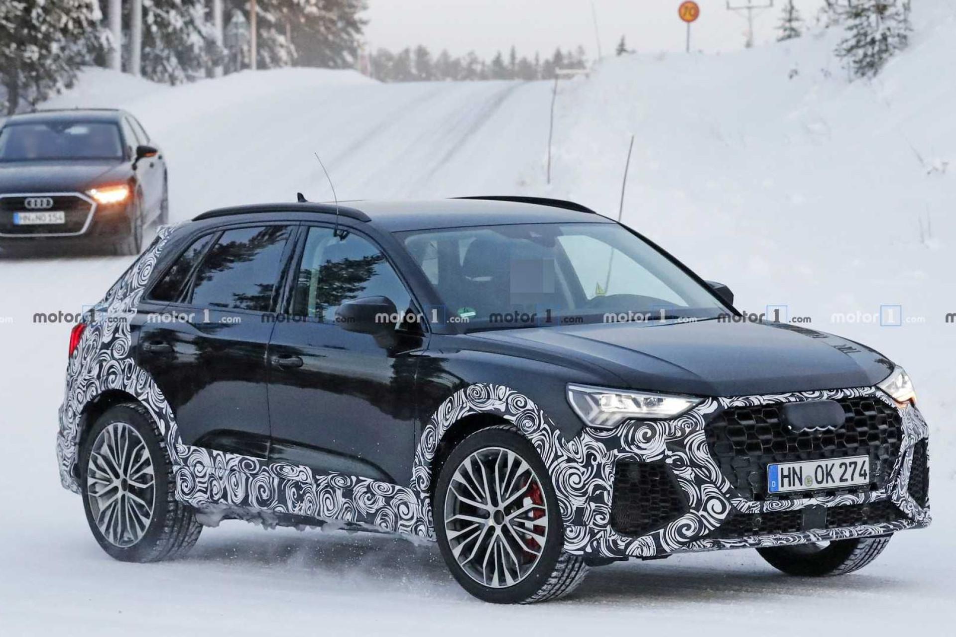 Sim, o novo Audi RS Q3 pode passar os 400 cv