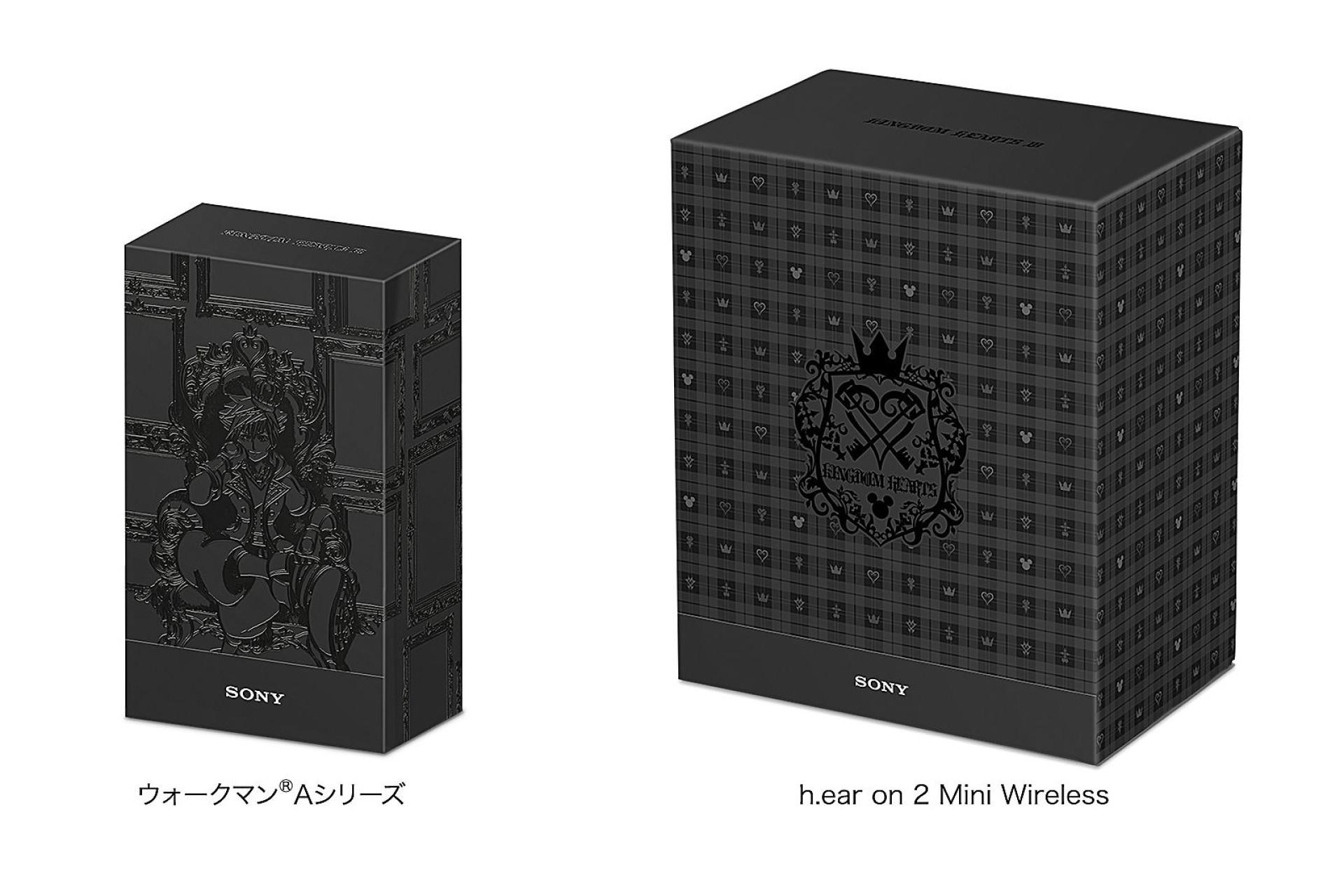 Sony comemora 'Kingdom Hearts III' com Walkman e headphones especiais